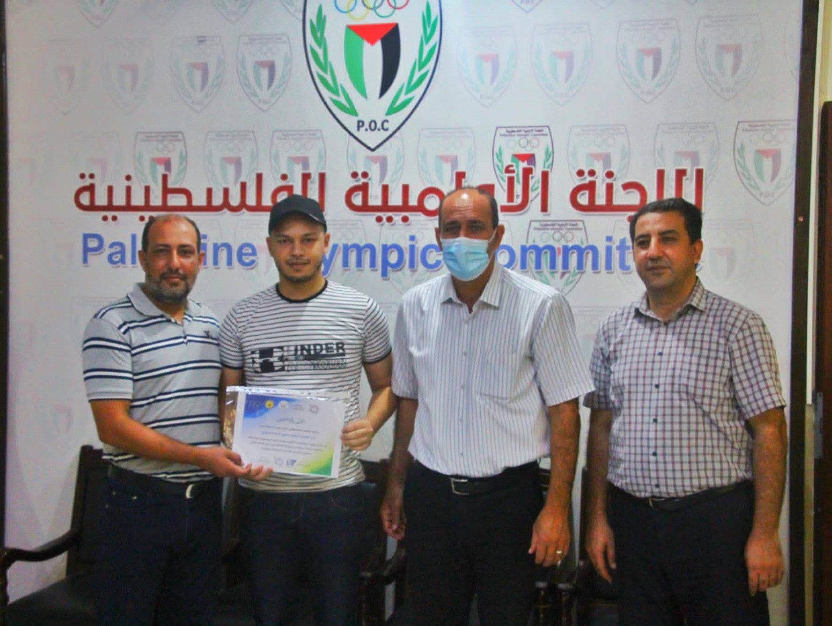 Palestinian baseball, softball and Baseball5 coaches and umpires graduate