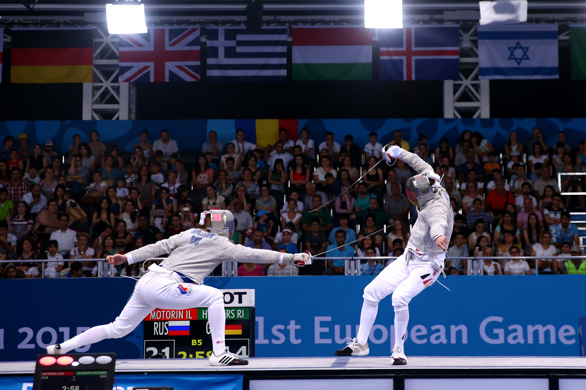 Fencing is set to return to the European Games programme after its omission during the second edition in Minsk in 2019 ©Getty Images