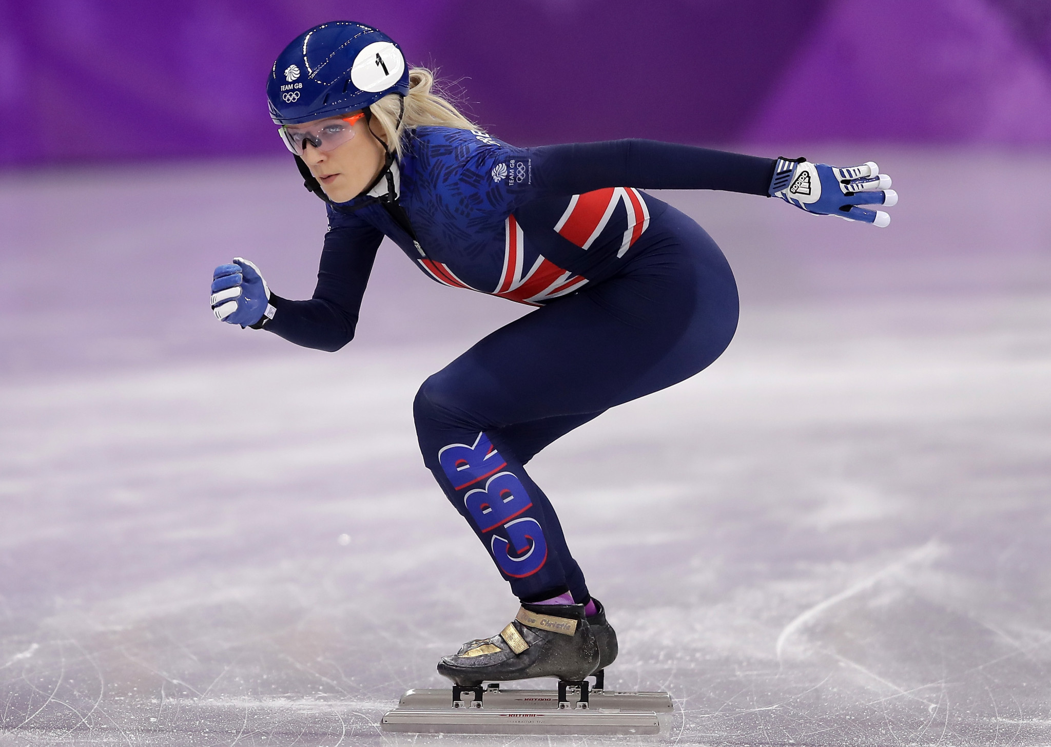 Former world champion Elise Christie among 12 selected for British short track speed skating squads