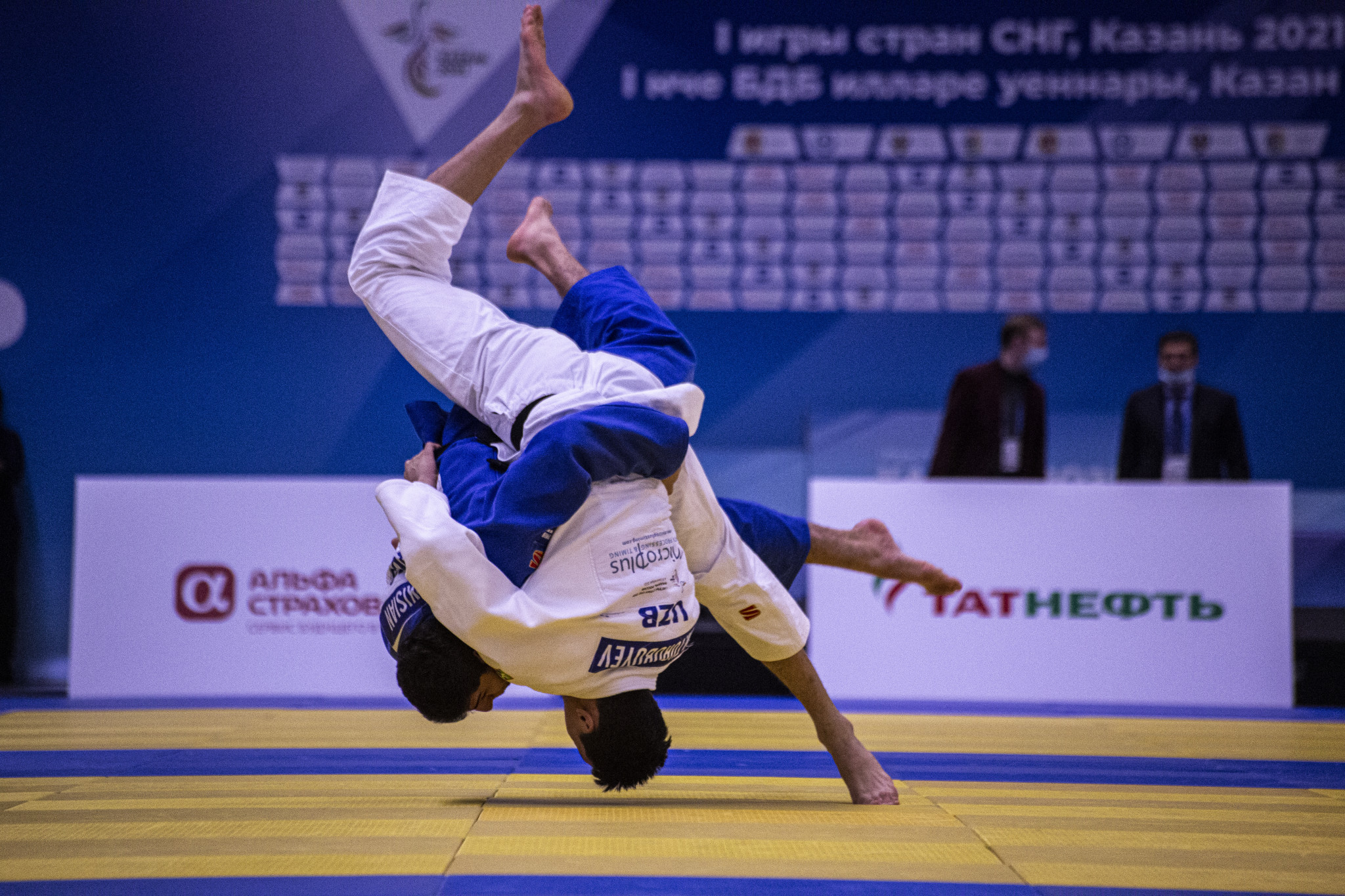 Russia won eight of 15 judo medals at the Games of the CIS Countries ©Games of the CIS Countries