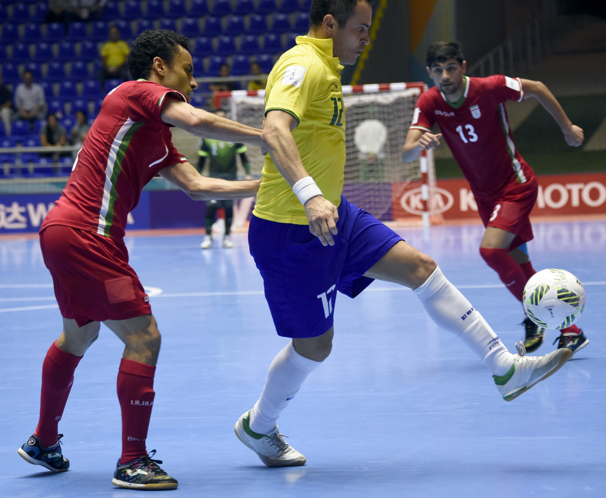 Brazil are five-time winners of the FIFA Futsal World Cup, but lost to Iran in the round of 16 last time out, with their opponents going on to finish third ©Getty Images