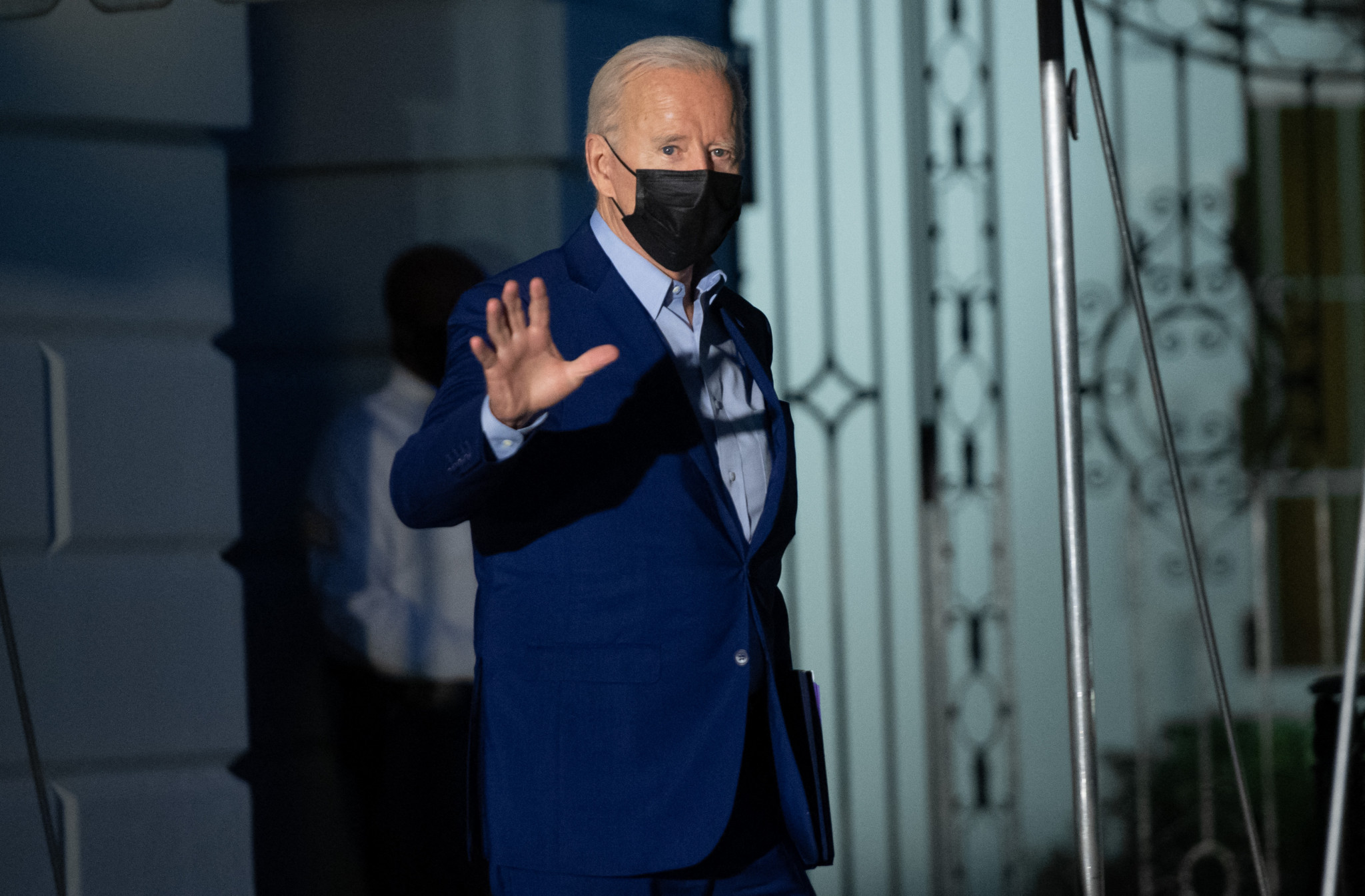Biden appeals to sports venues to require vaccination or negative tests