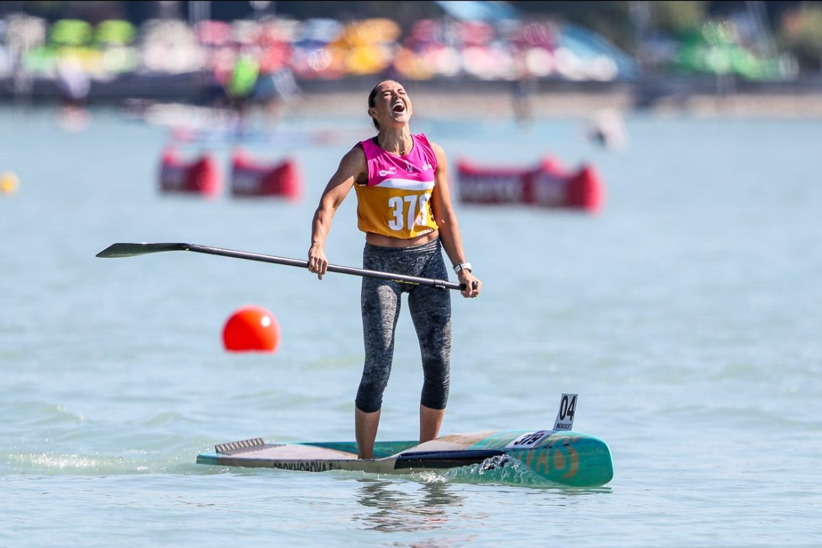 Garioud and Prokhorova secure sprint golds at ICF Stand Up Paddling World Championships