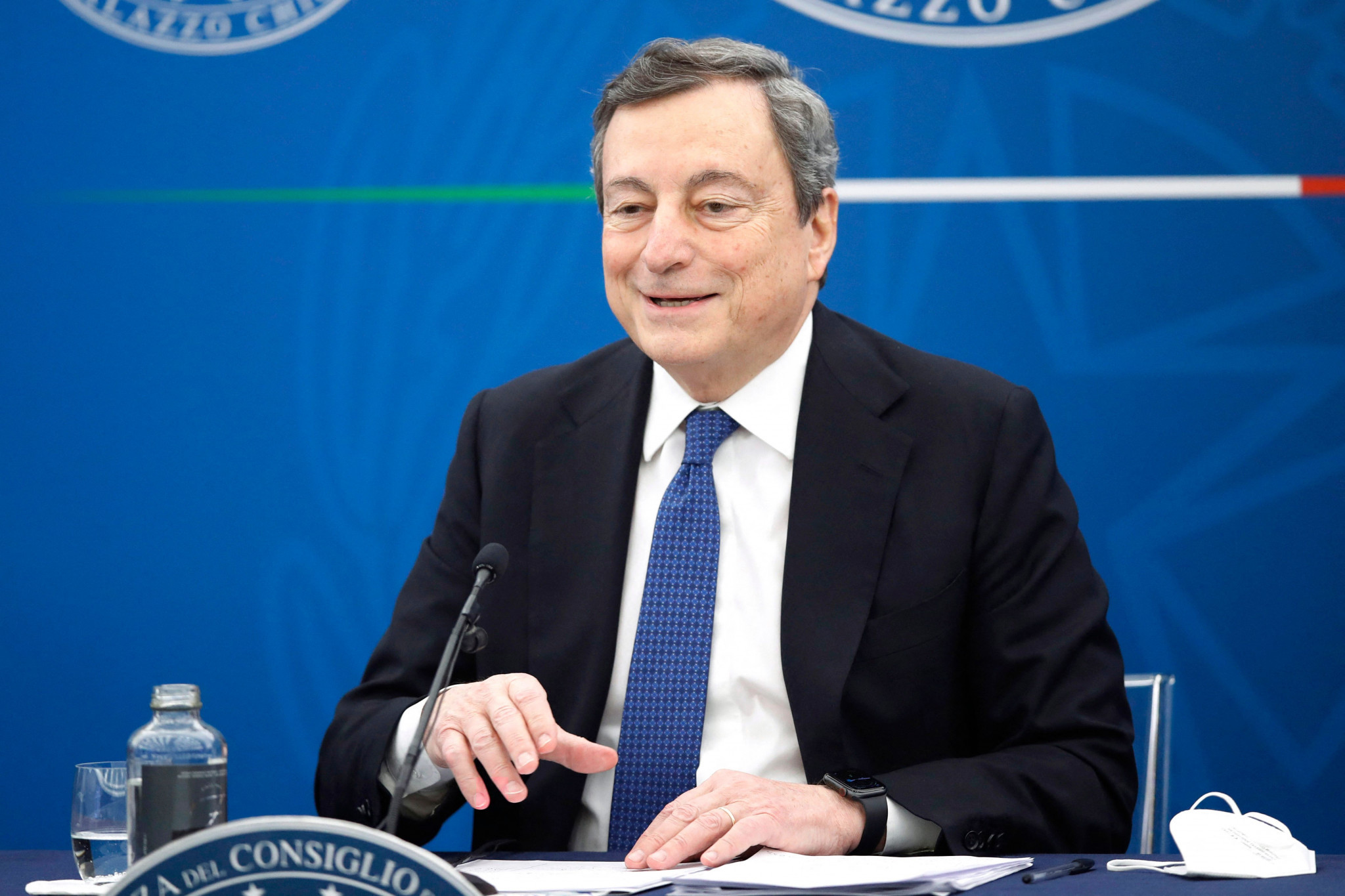 Mario Draghi is currently chairing the G20, having been sworn in as Italian Prime Minister this February ©Getty Images