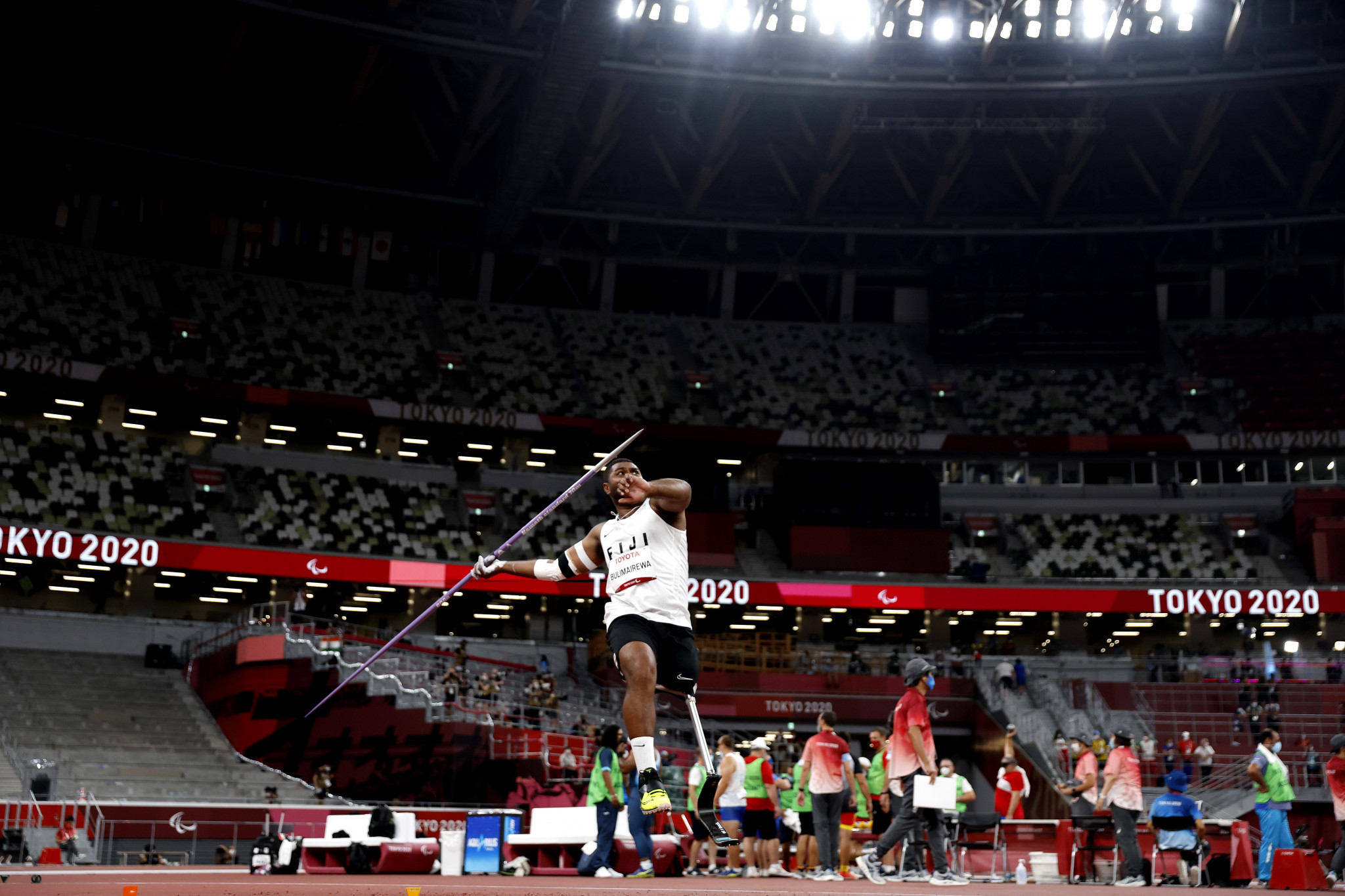 Fiji were represented by two athletes at the Tokyo 2020 Paralympics ©Getty Images