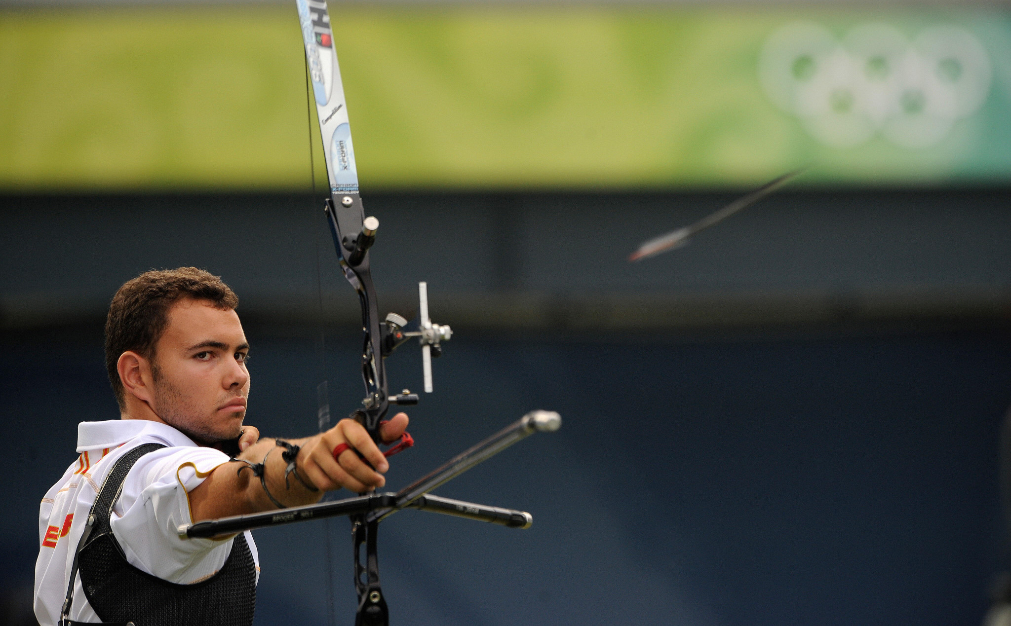 Daniel Morillo was part of the Spain team that won gold in the men's team category at the European Field Archery Championships  ©Getty Images