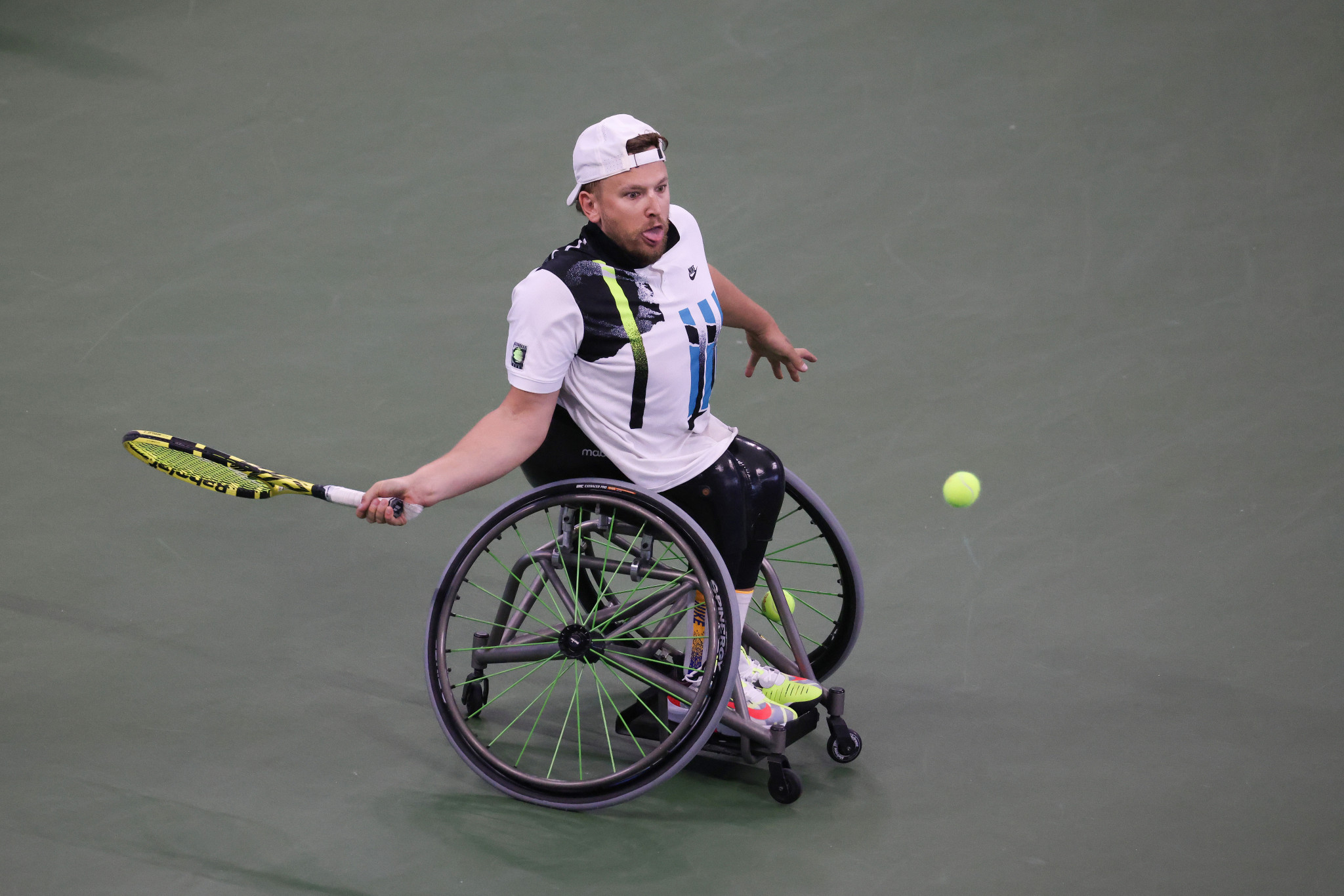Dylan Alcott has won the Australian Open, French Open, Wimbledon and Paralympic titles already in 2021 ©Getty Images