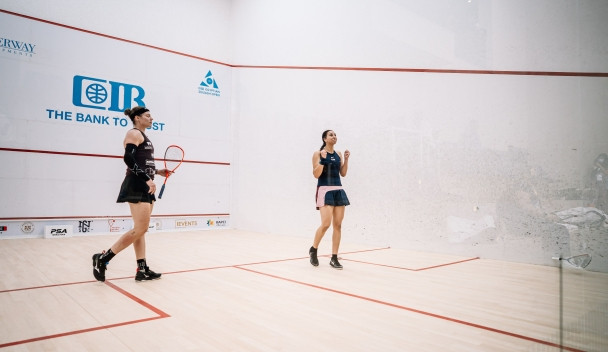 Mohamed stuns Perry again at PSA Egyptian Open