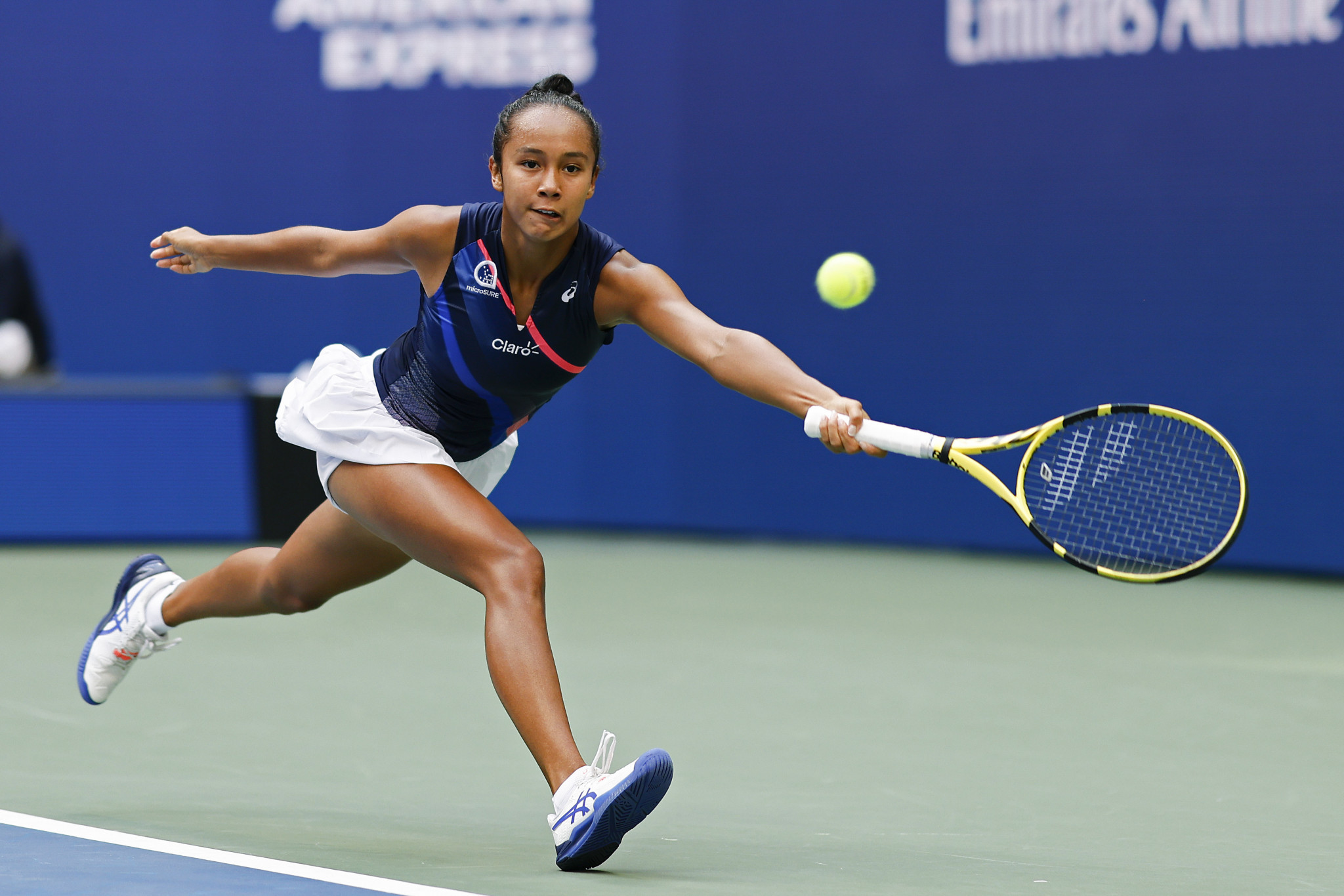Canadian Leylah Fernandez, 19, knocked out two former champions and three of the top five seeds en route to the final, but could not overcome Raducanu ©Getty Images