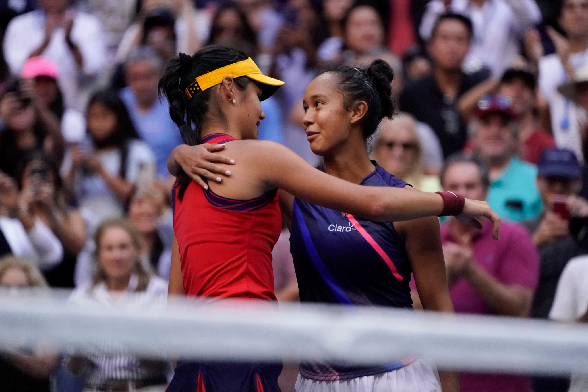 The US Open women's singles final - the youngest at the Grand Slam since 1999 - was so youthful that both players were born after the September 11 terror attacks, which took place exactly 20 years ago to the day ©Getty Images