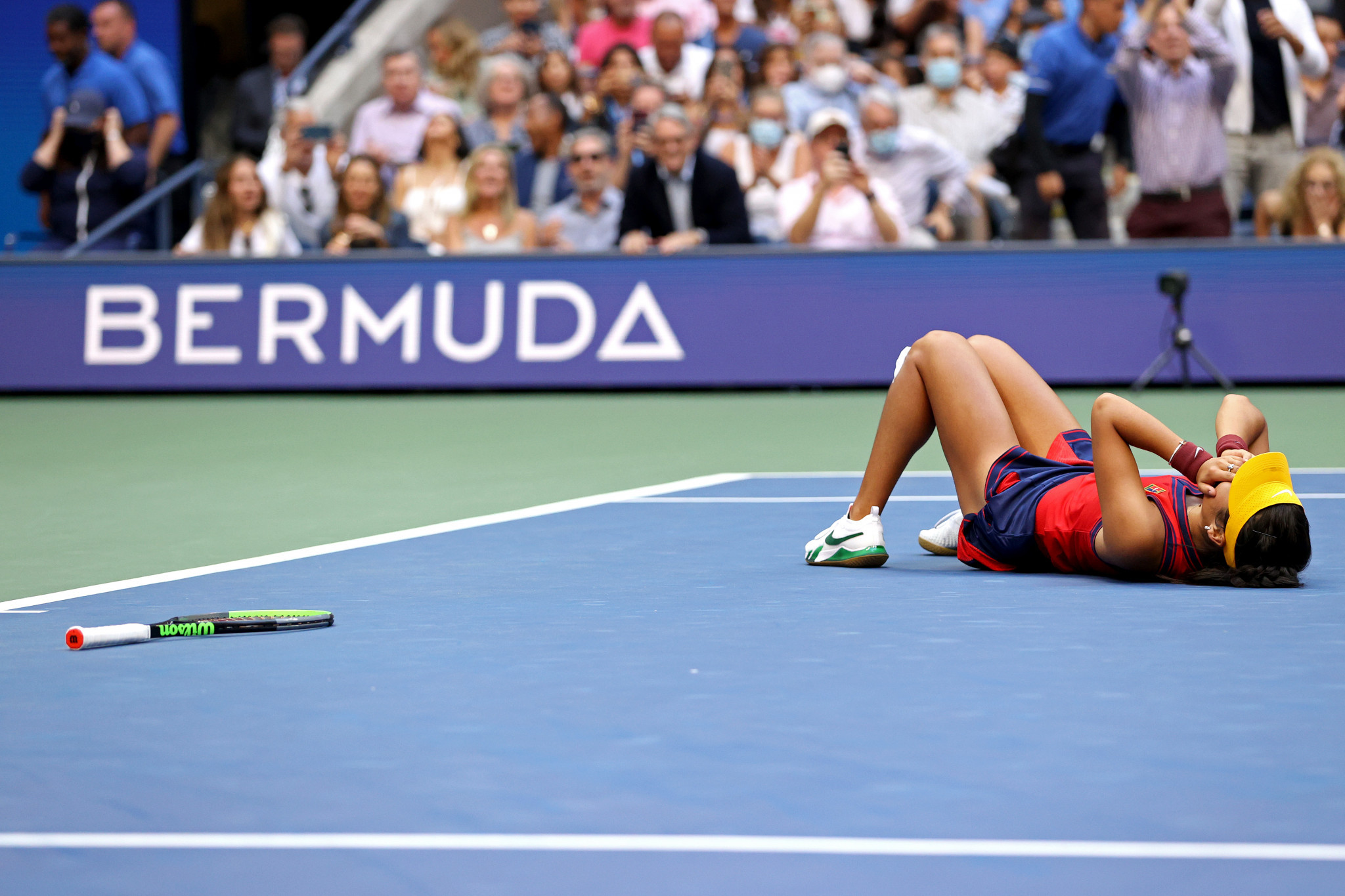 Raducanu is the first British woman to win the US Open since Virginia Wade in 1968 ©Getty Images