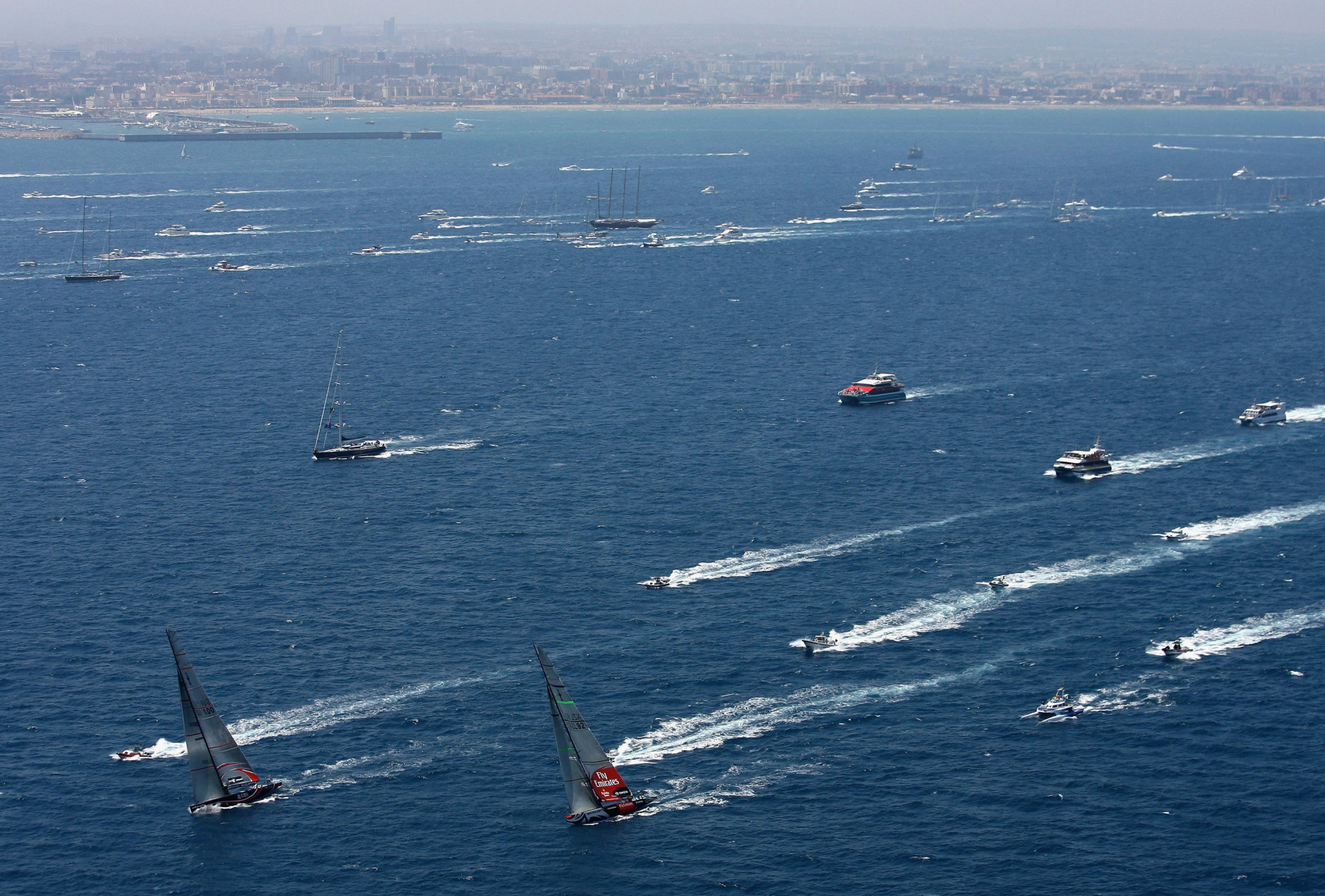 Valencia has previously hosted the America's Cup in 2007 and 2010 ©Getty Images