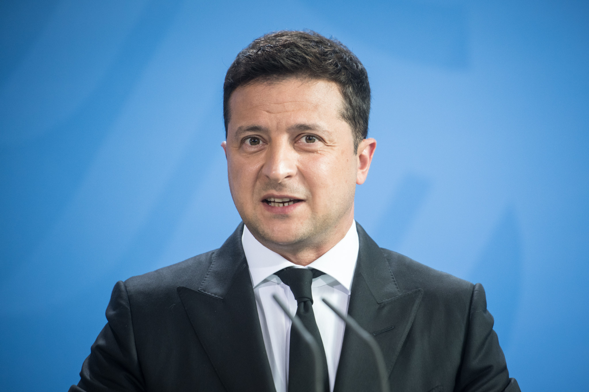 President Volodymyr Zelenskyy says Ukraine would like to enter the dialogue phase with the IOC over hosting a future edition of the Winter Olympics ©Getty Images