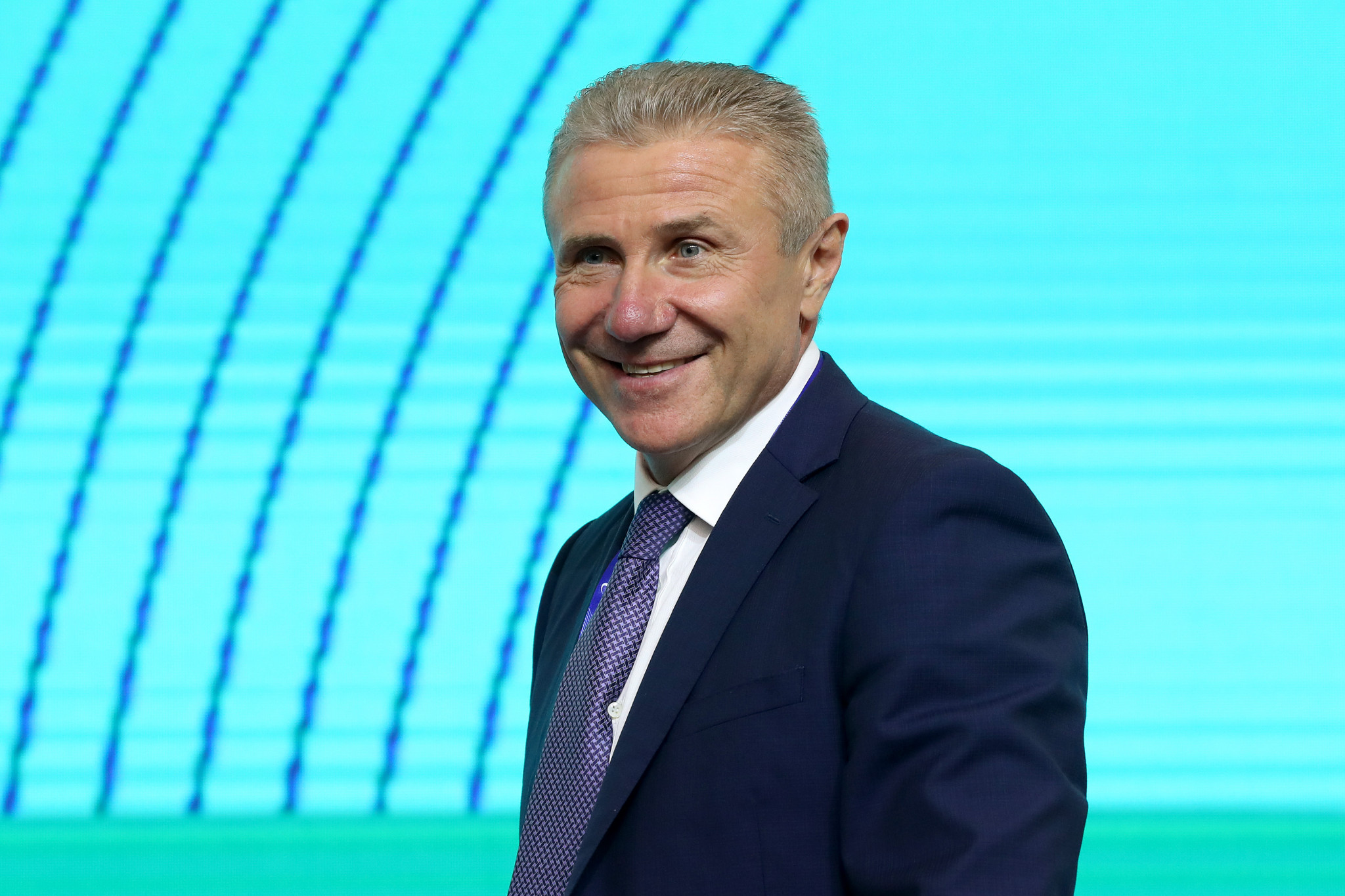 President of the National Olympic Committee of Ukraine Sergey Bubka said the hosting of a future Olympic Games could help develop Ukraine ©Getty Images