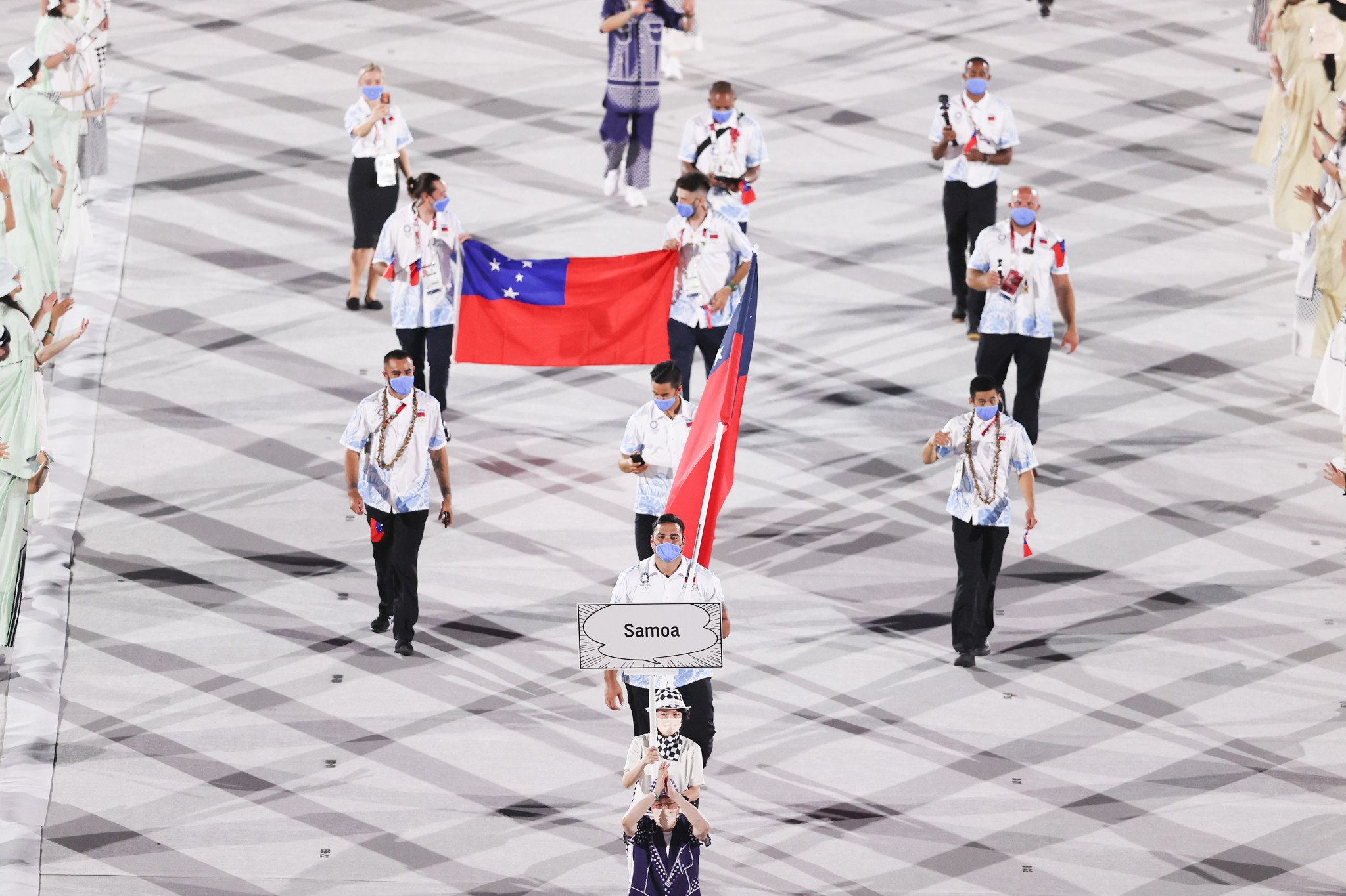 Only overseas athletes were permitted to represent Samoa at Tokyo 2020 because of the closure of the country's border due to COVID-19 ©Getty Images