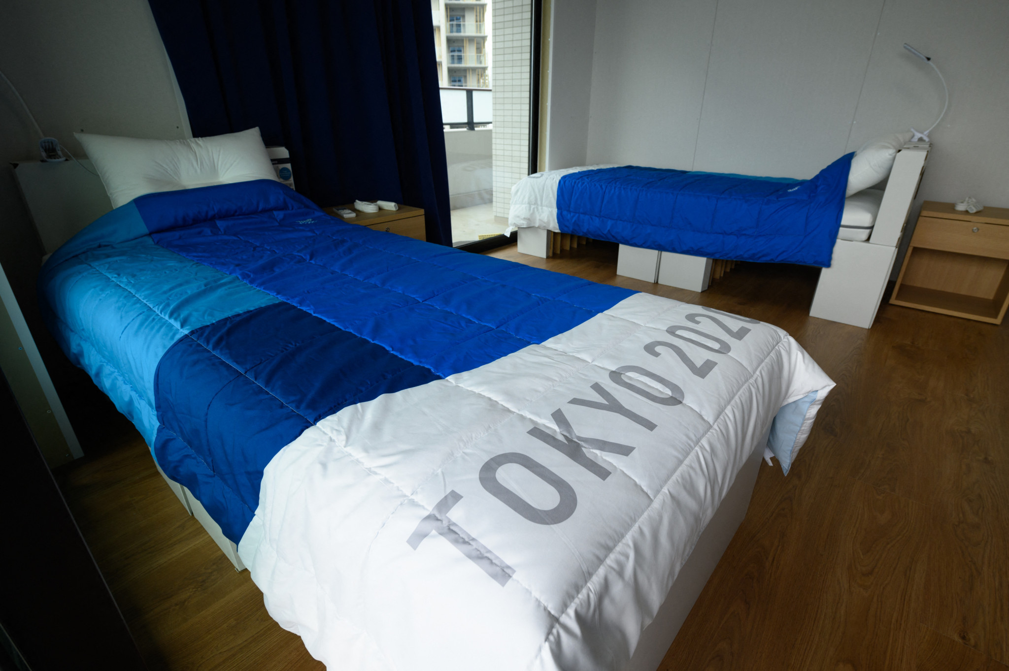 Tokyo 2020 cardboard beds to be made available for COVID-19 patients in Osaka