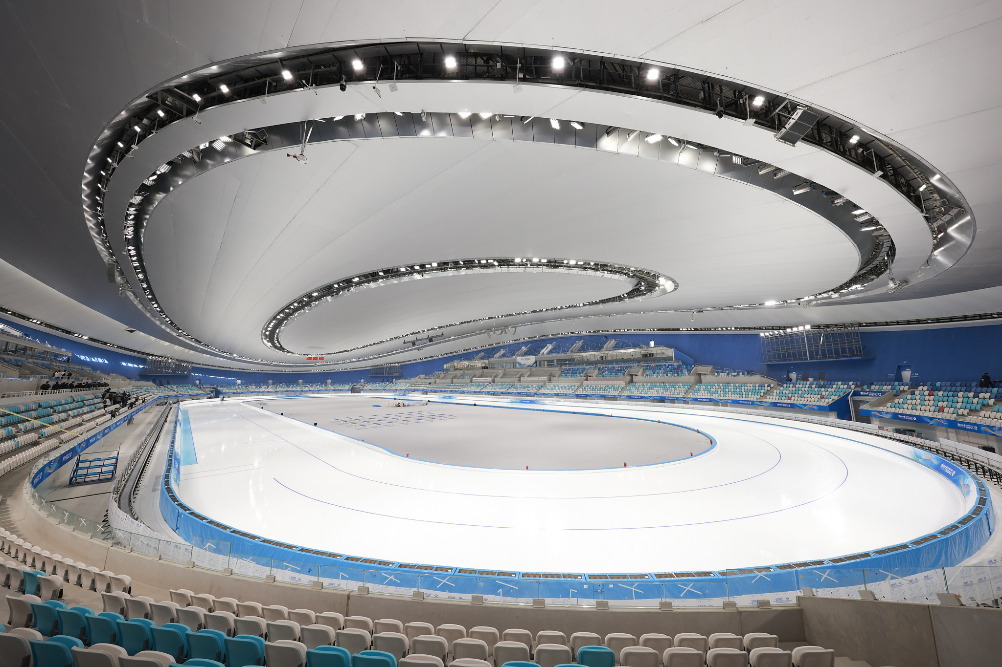 The National Speed Skating Oval is set to stage the speed skating events at Beijing 2022 ©Getty Images