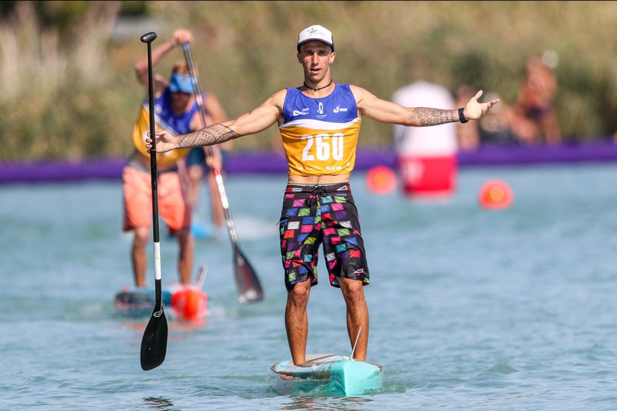 Wylde and Garioud close out ICF Stand Up Paddling World Championships in style, each winning second gold