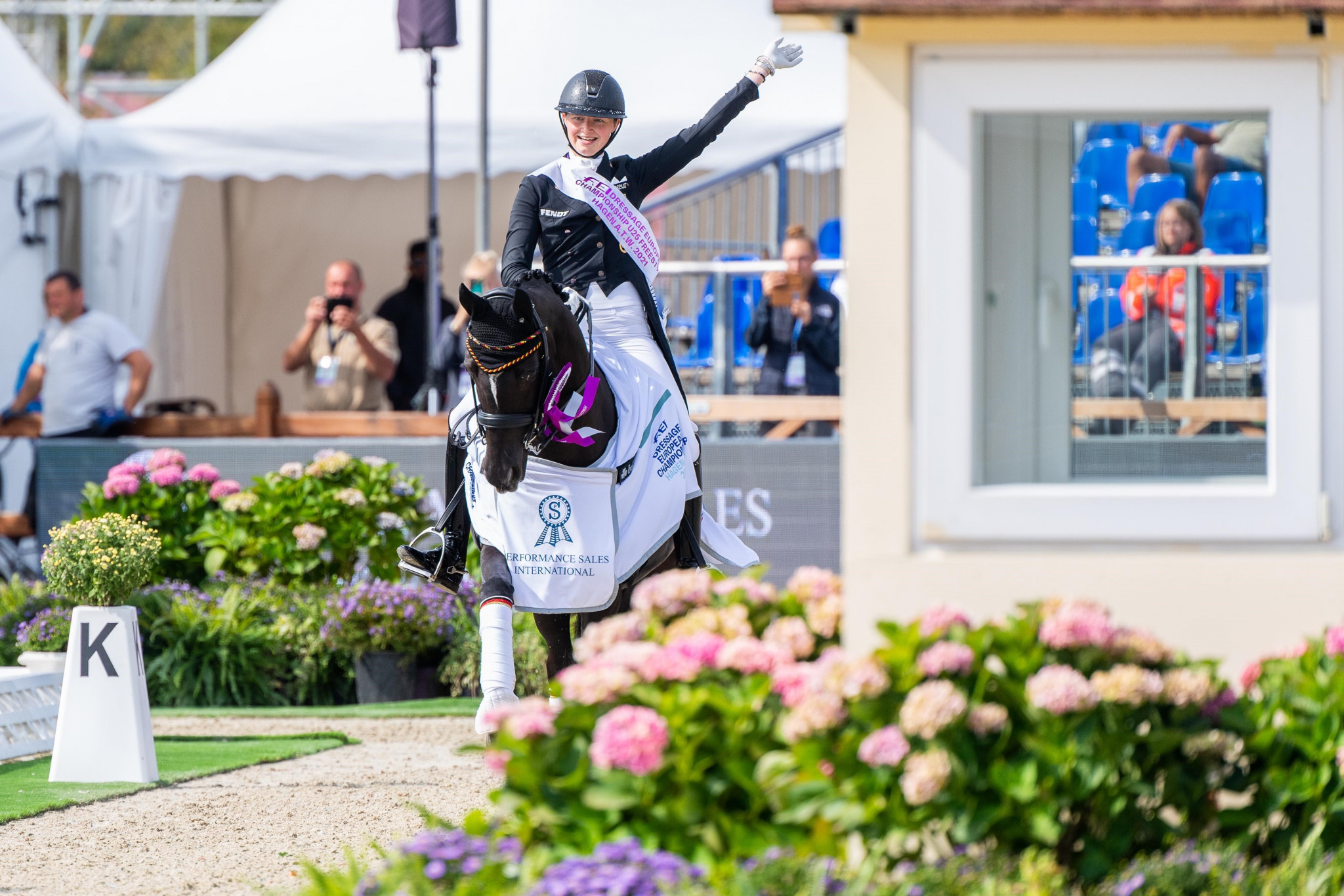 Rothenberger earns under-25 freestyle title at FEI Dressage European Championships