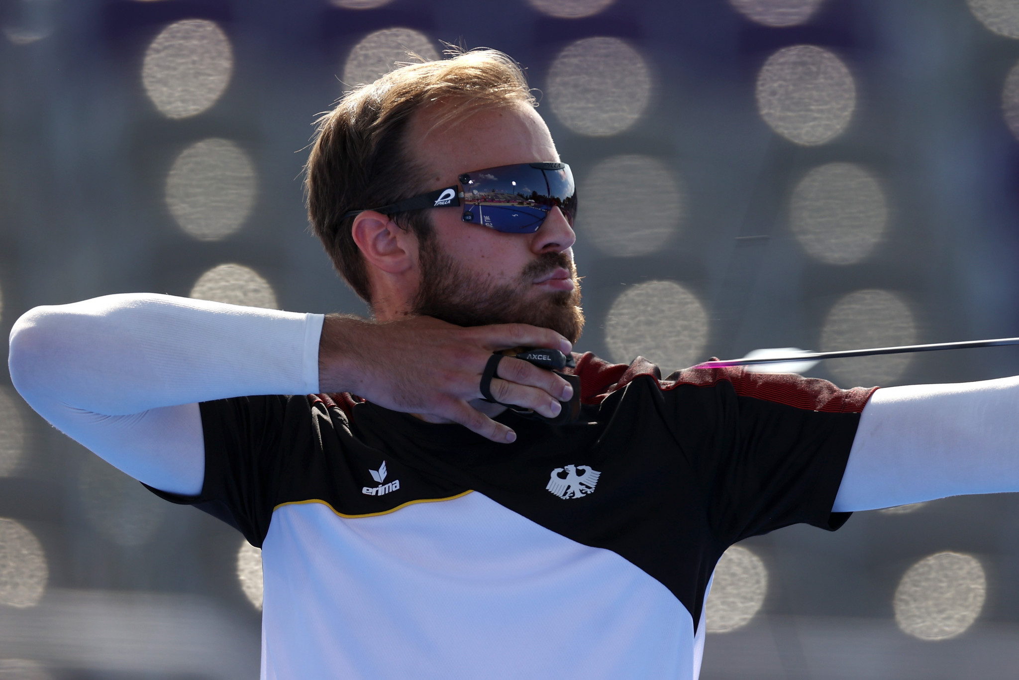 Germany's Florian Unruh claimed gold in the men's recurve category ©Getty Images