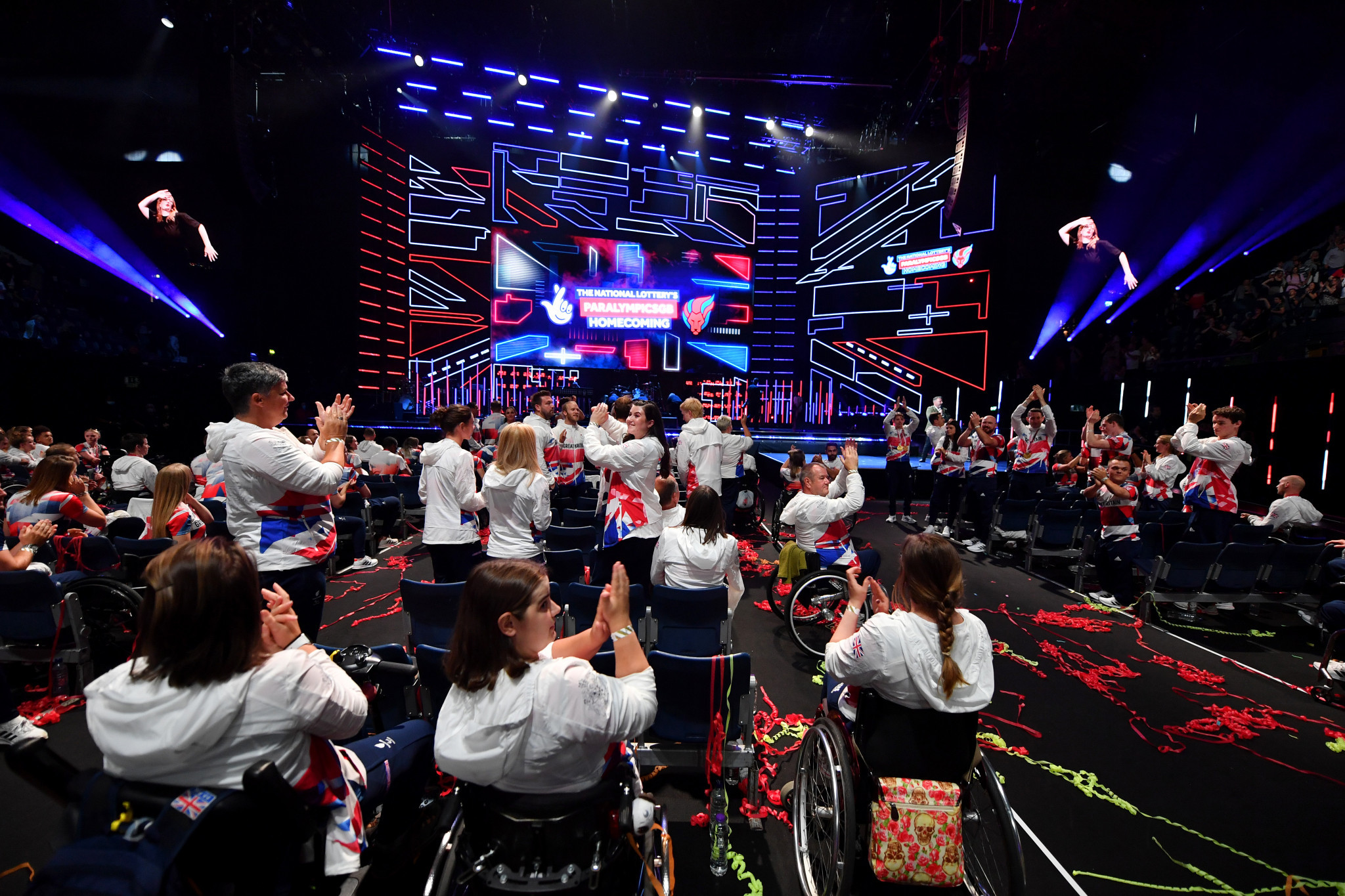 ParalympicsGB holds homecoming event to celebrate Tokyo 2020 team