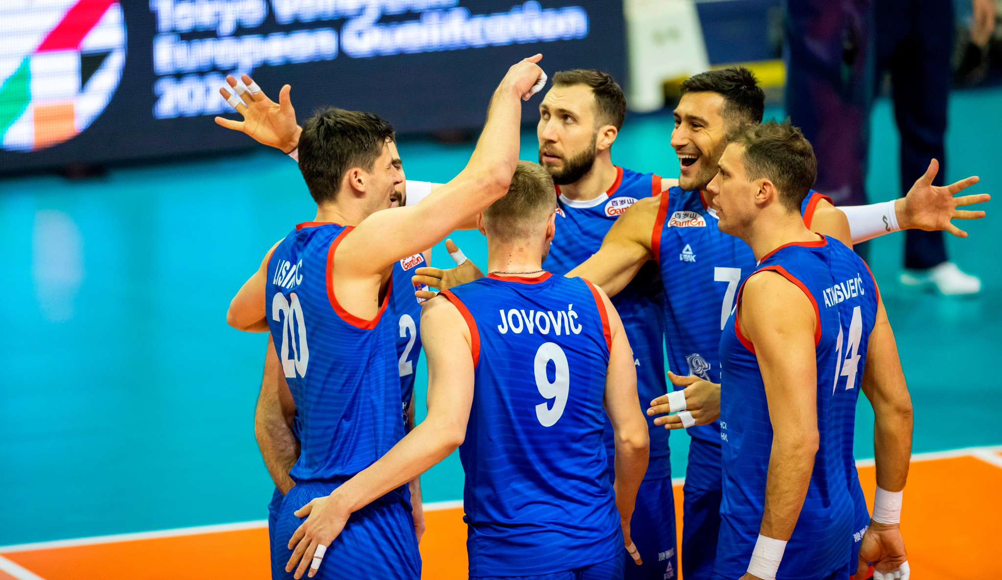 Serbia and Netherlands come through five-set matches to reach Men's EuroVolley quarter-finals