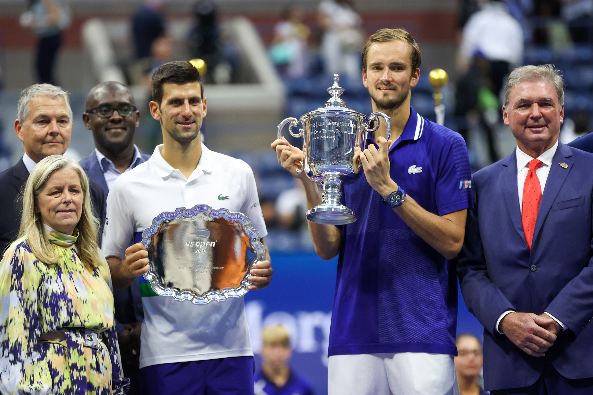 Instead Medvedev is the first non-Big Three player to beat one of the Big Three in a Grand Slam final since 2016 ©Getty Images