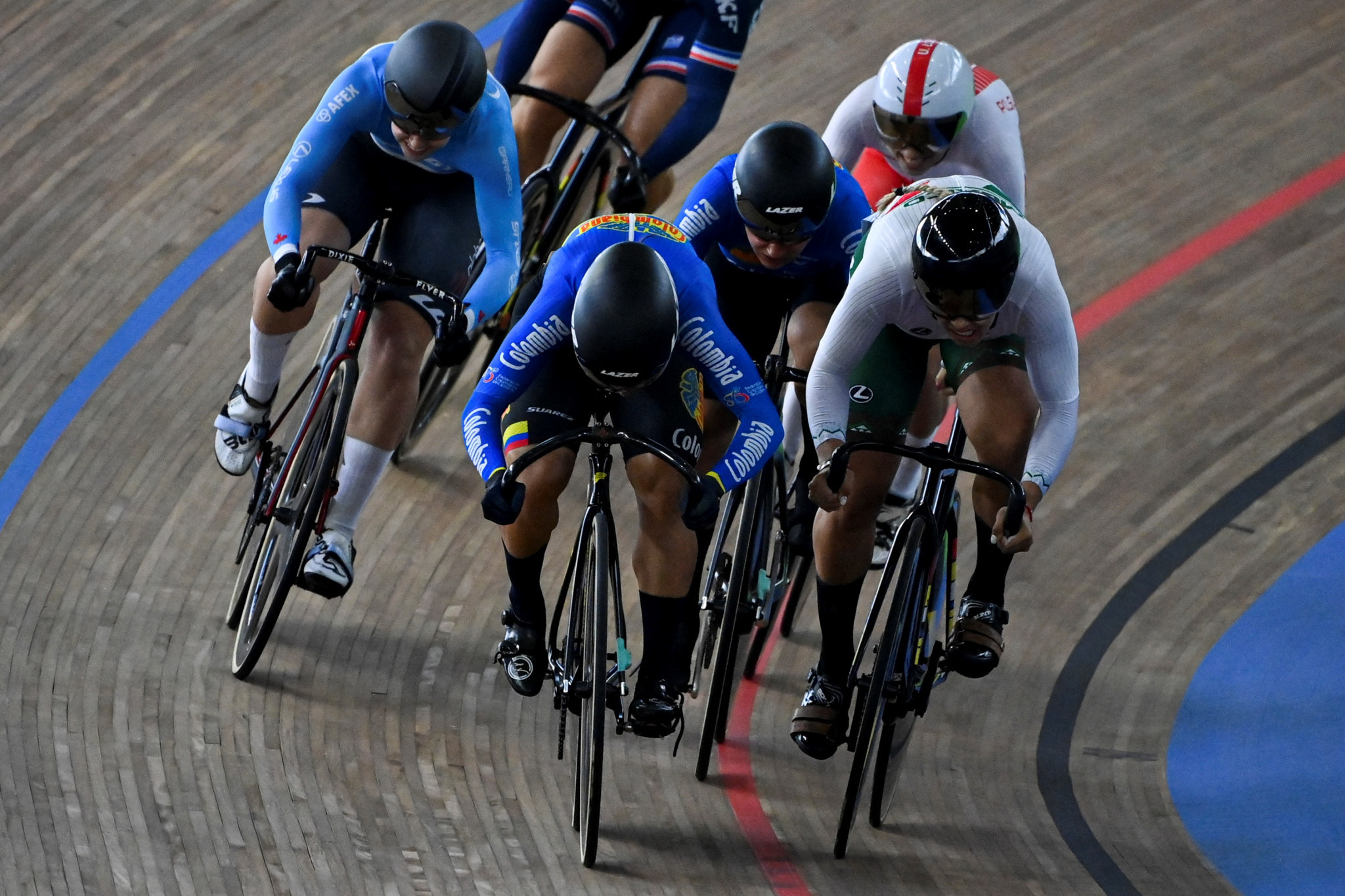Bayona Pineda earns her third and Colombia's fifth gold on final day of UCI Track Cycling Nations Cup