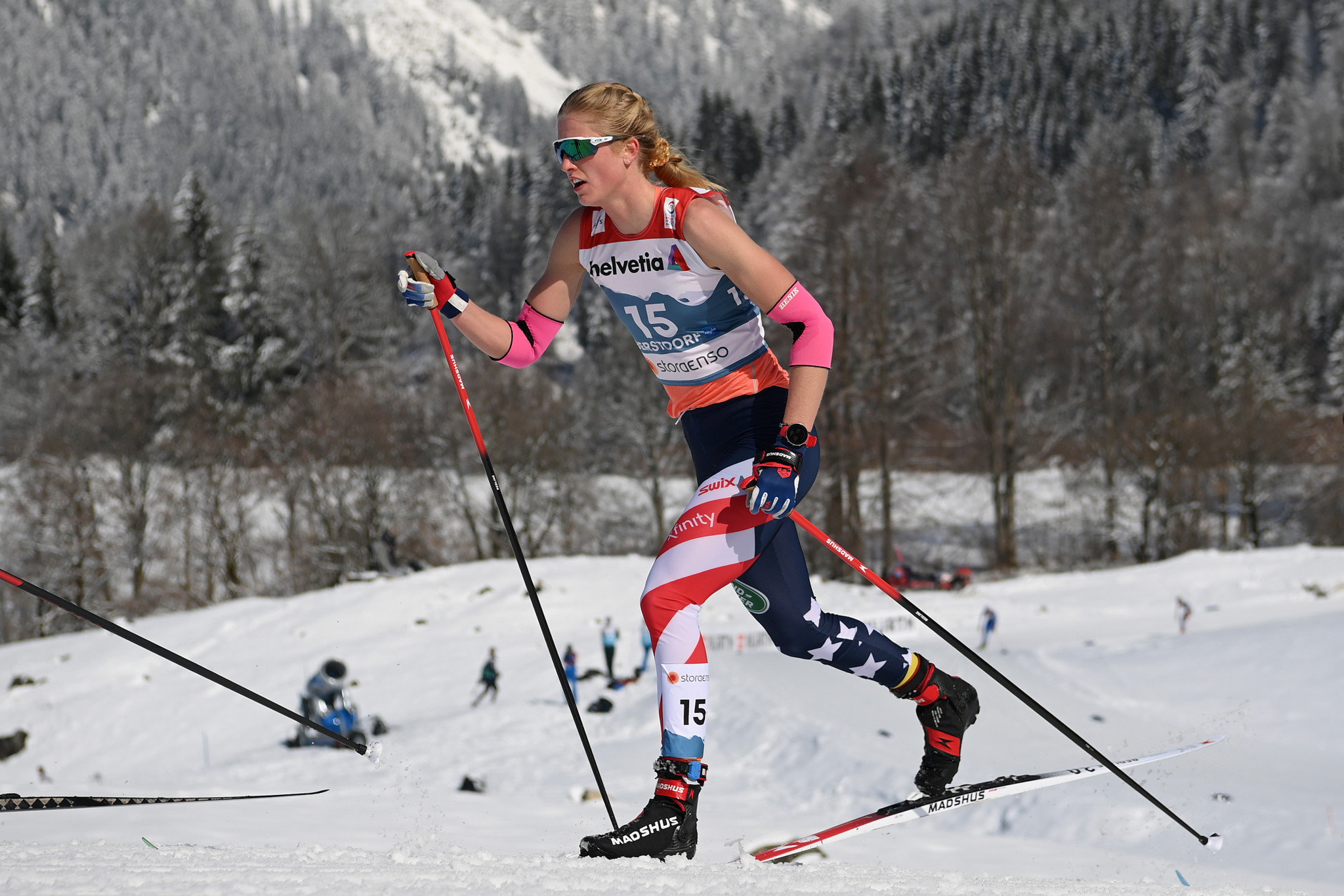 Decorated junior cross-country skier Swirbul aims to peak at maiden Winter Olympics