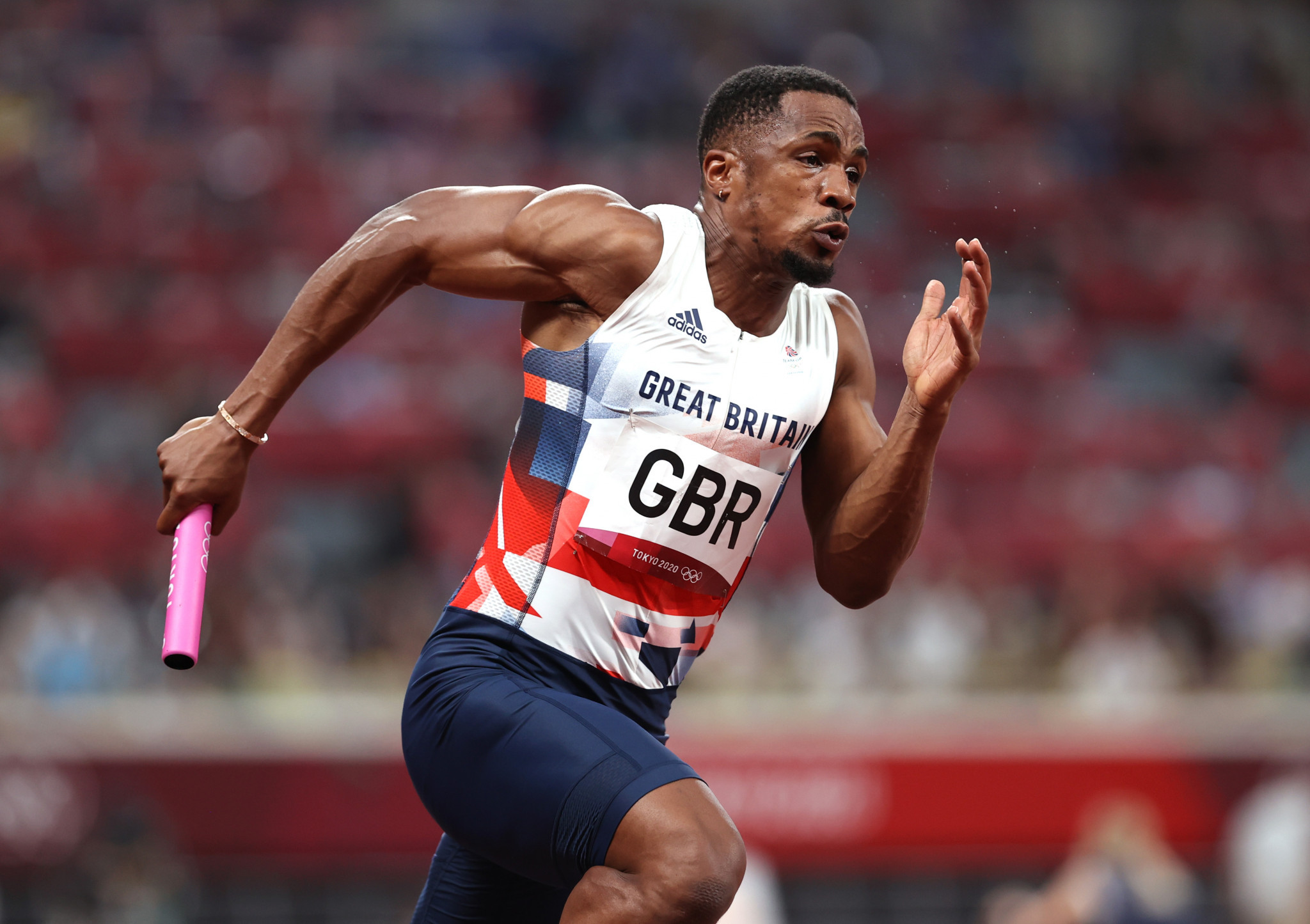 CJ Ujah faces losing his Olympic silver medal after testing positive for banned drugs at Tokyo 2020 after being caught by the ITA ©Getty Images