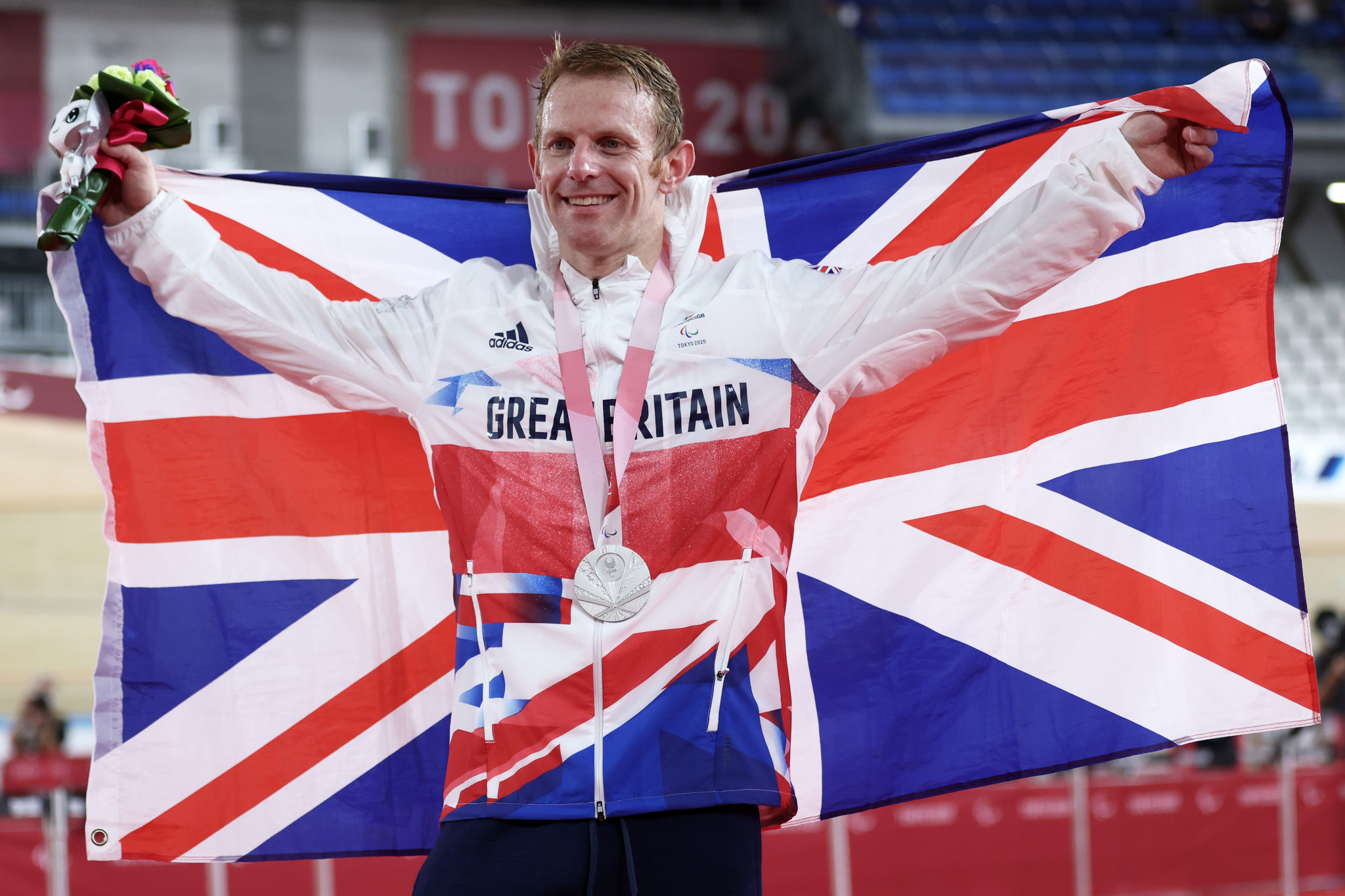 Jody Cundy has won eight Paralympic gold medals, adding another at Tokyo 2020 as well as a silver ©Getty Images