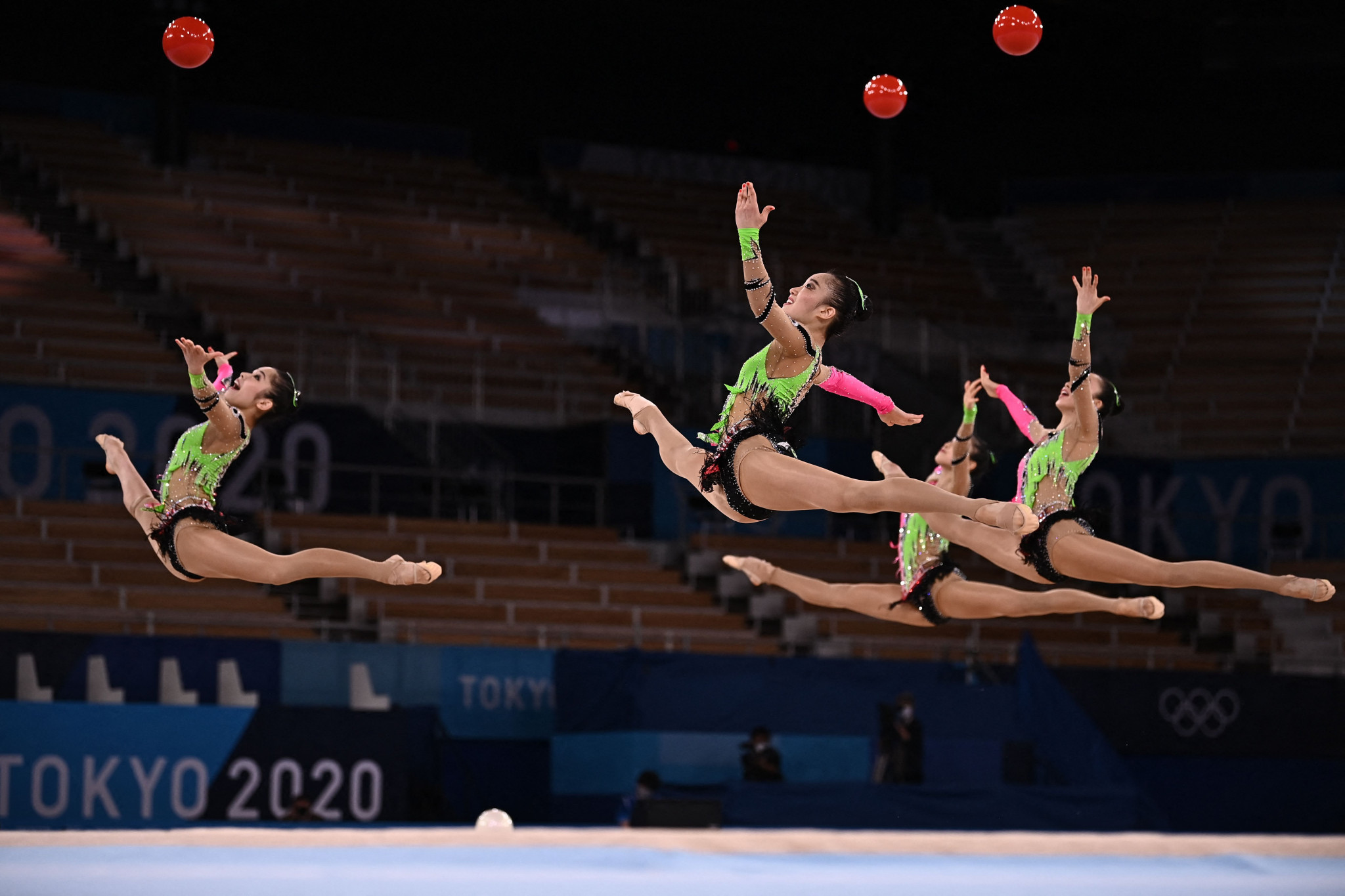 Spectators were unable to attend gymnastics competition at the Tokyo 2020 Olympic Games ©Getty Images