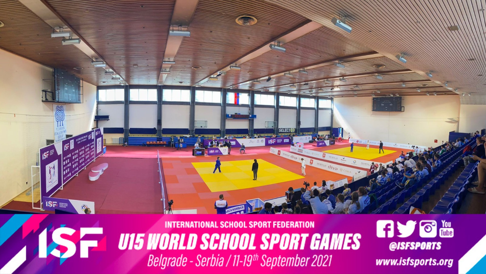 Competitions and educational events begin at first ISF Under-15 World School Sport Games