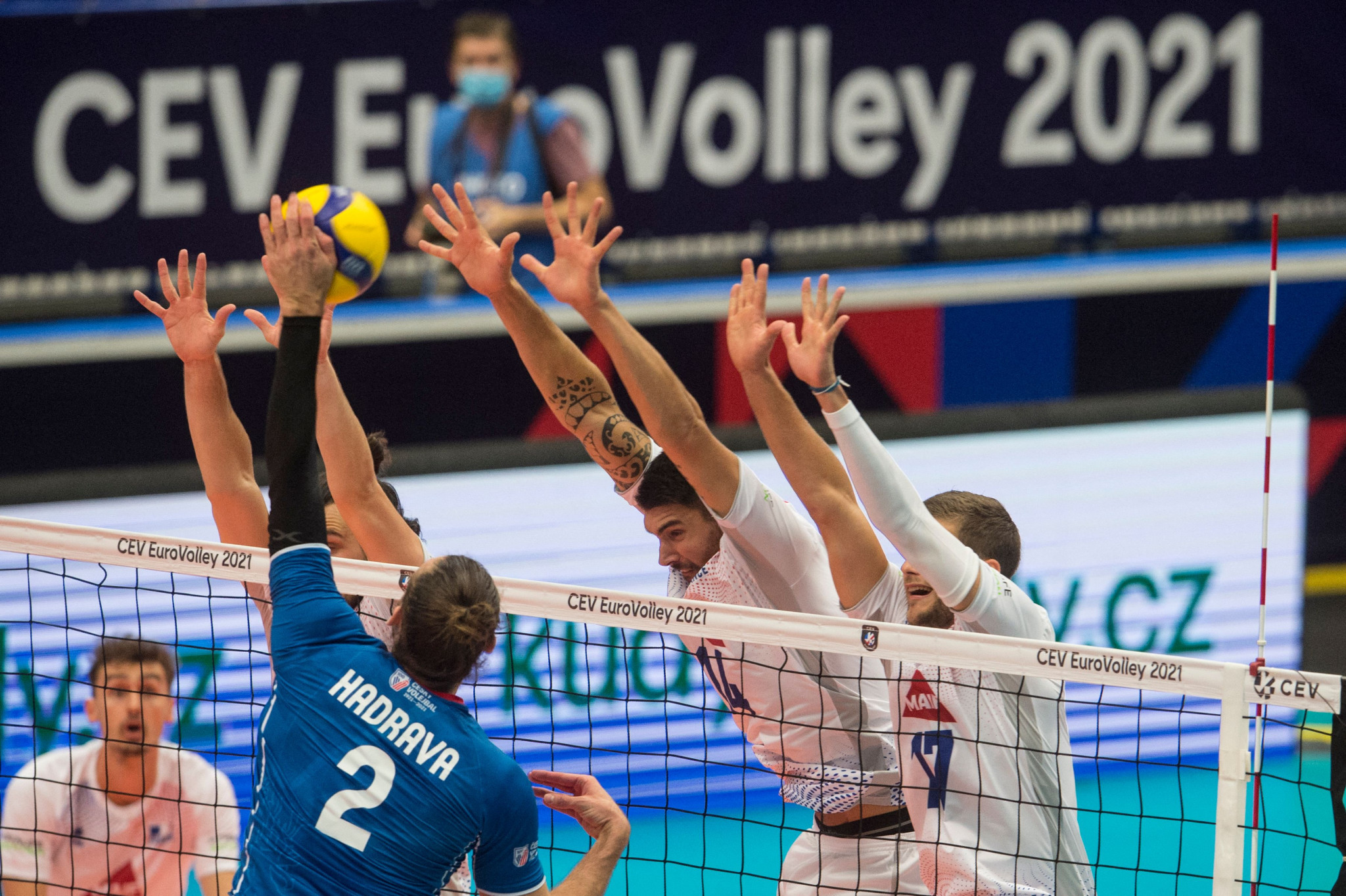 Olympic champions France crash out of Men's EuroVolley at Czech hands