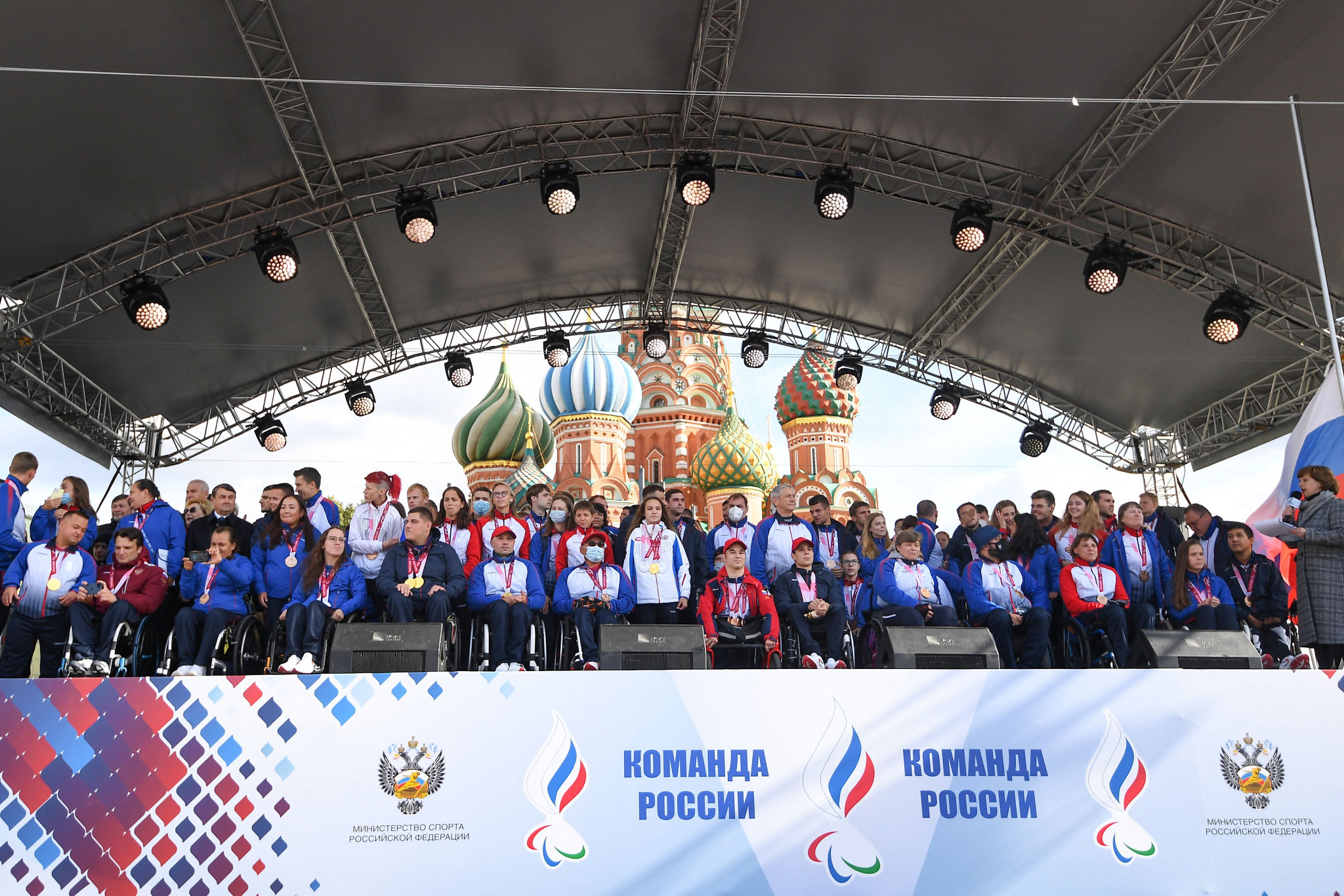 Putin hails RPC athletes as heroes of Tokyo 2020 Paralympic Games