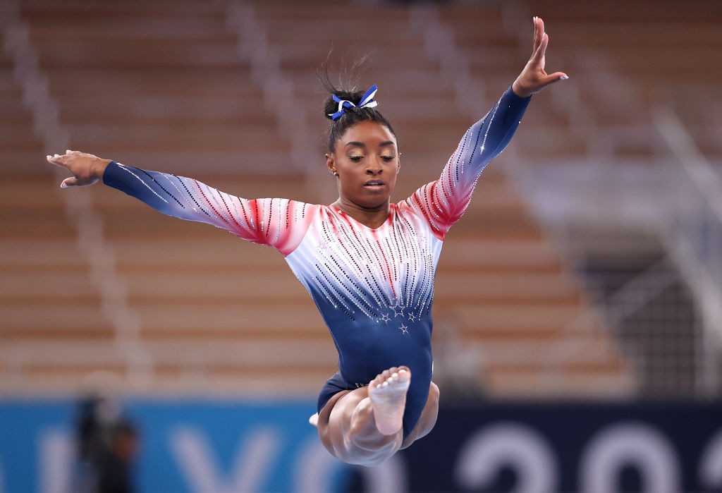 Simone Biles is set to testify before a US Senate panel this week ©Getty Images