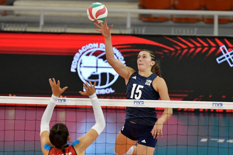 United States squeeze past Mexico in opening day of Women's Volleyball Pan American Cup