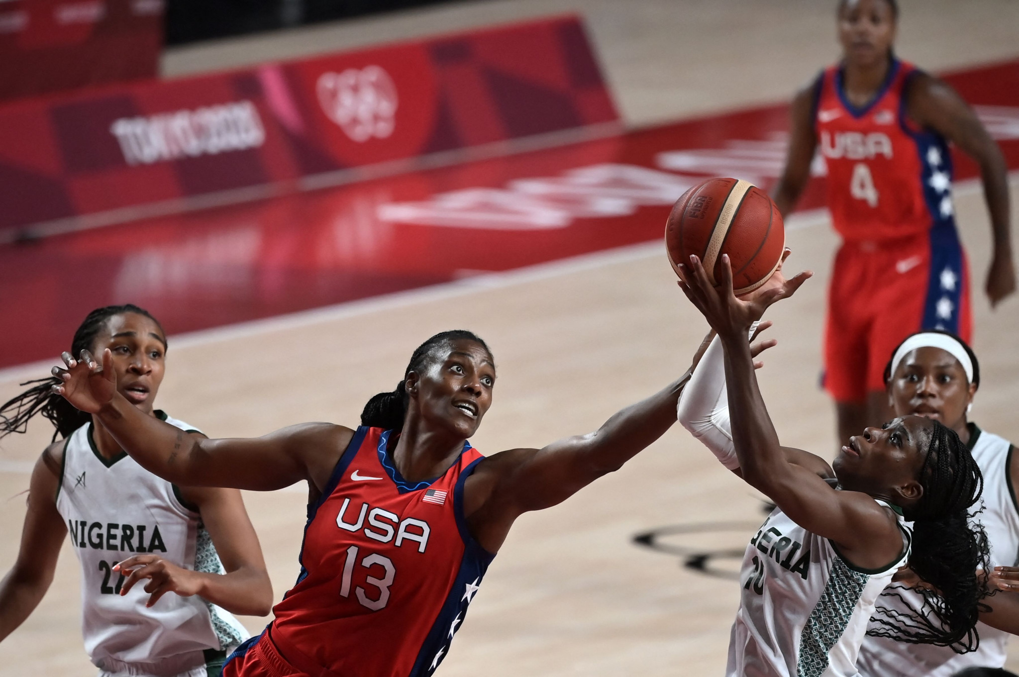 Both the men's and women's Nigerian basketball teams exited the Olympics at the group stage ©Getty Images
