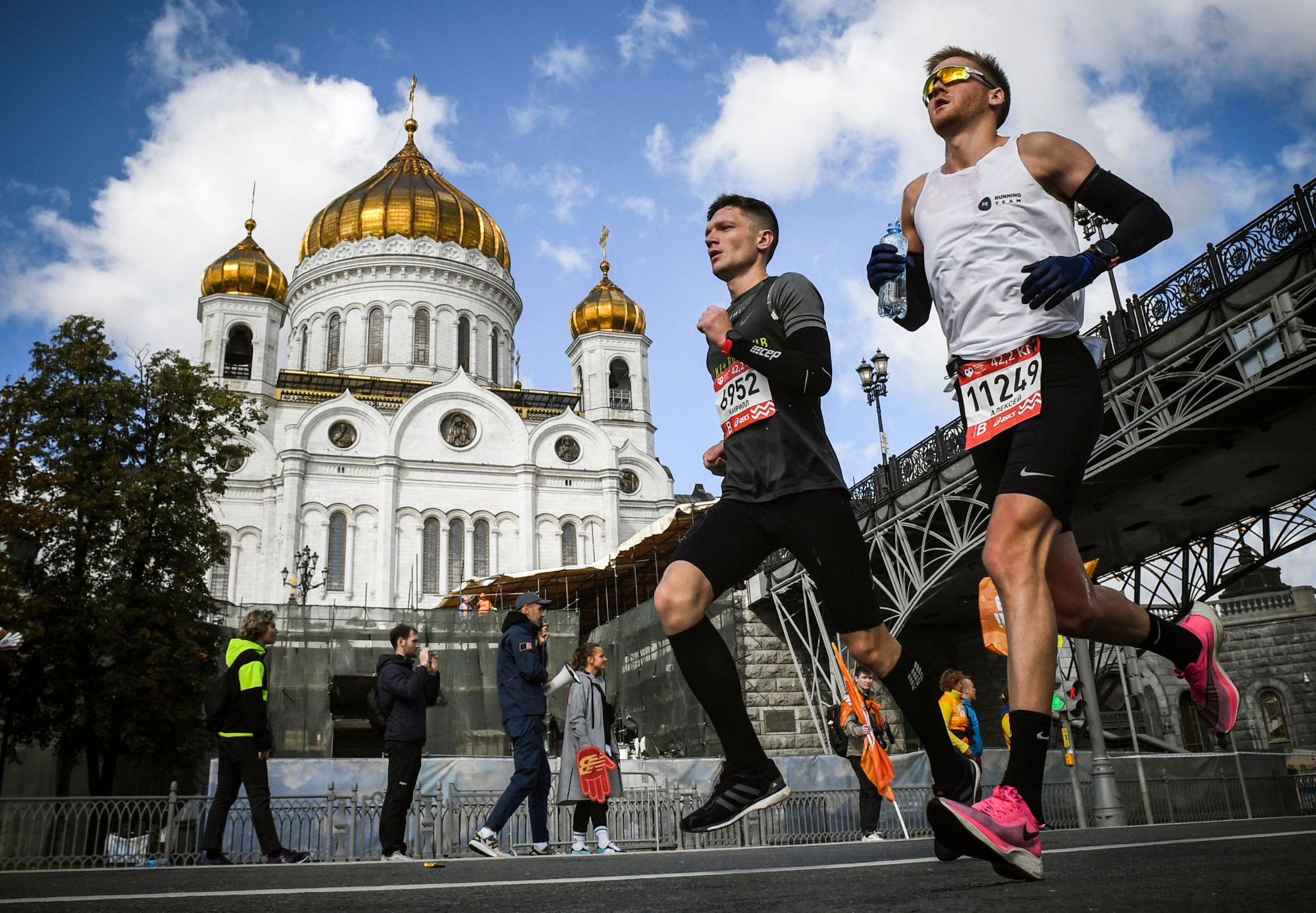 The Moscow Marathon was successfully held in 2020 despite the pandemic ©Getty Images