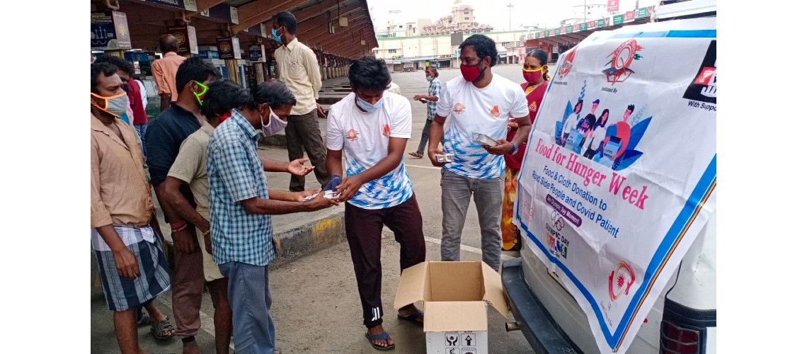 Teqball India has launched Food For Hunger Week, which aimed to tackle the problem of food waste and hunger ©FITEQ