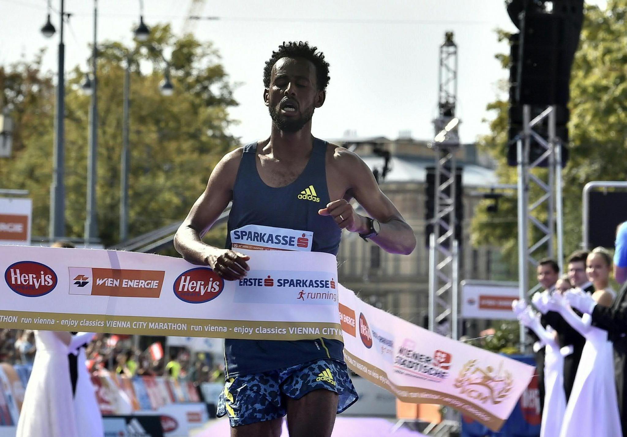 Derara Hurisa stripped of Vienna City Marathon victory after shoe misstep
