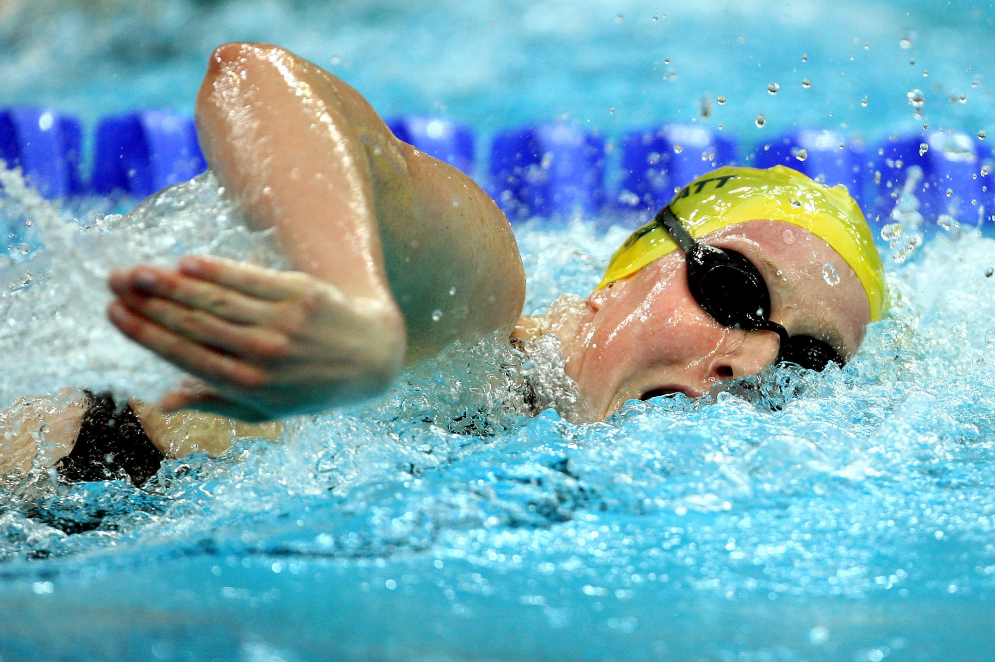 Bronte Barratt represented Australia in three Olympic Games, including Beijing 2008, where she won a gold medal in the 4x200 metres freestyle  ©Getty Images