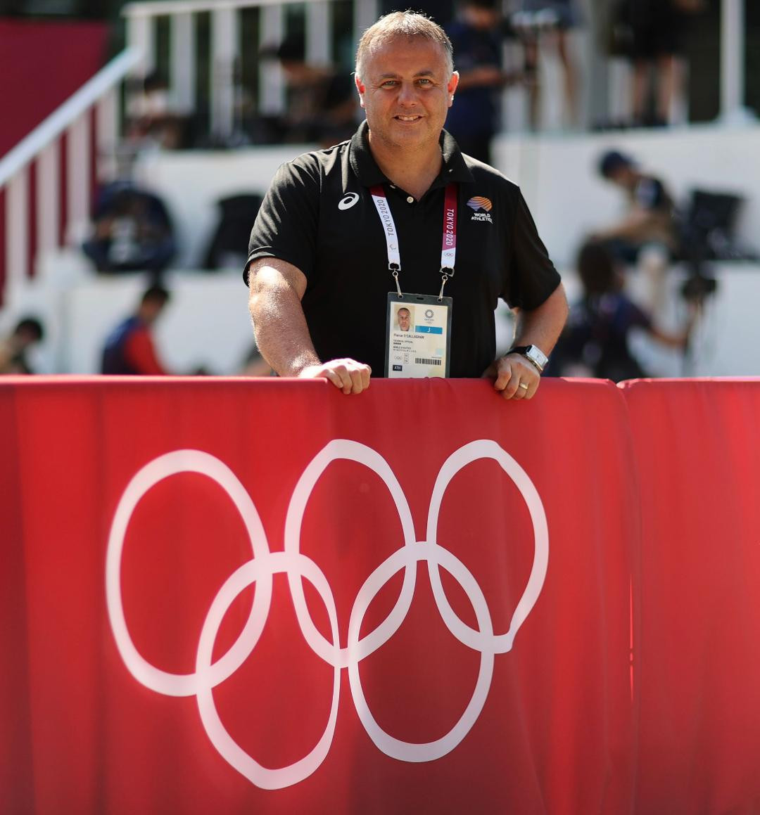 Irishman Piece O'Callaghan has been appointed as World Athletics as the head of competition management as the international governing body completed its restructuring of its calendar ©World Athletics