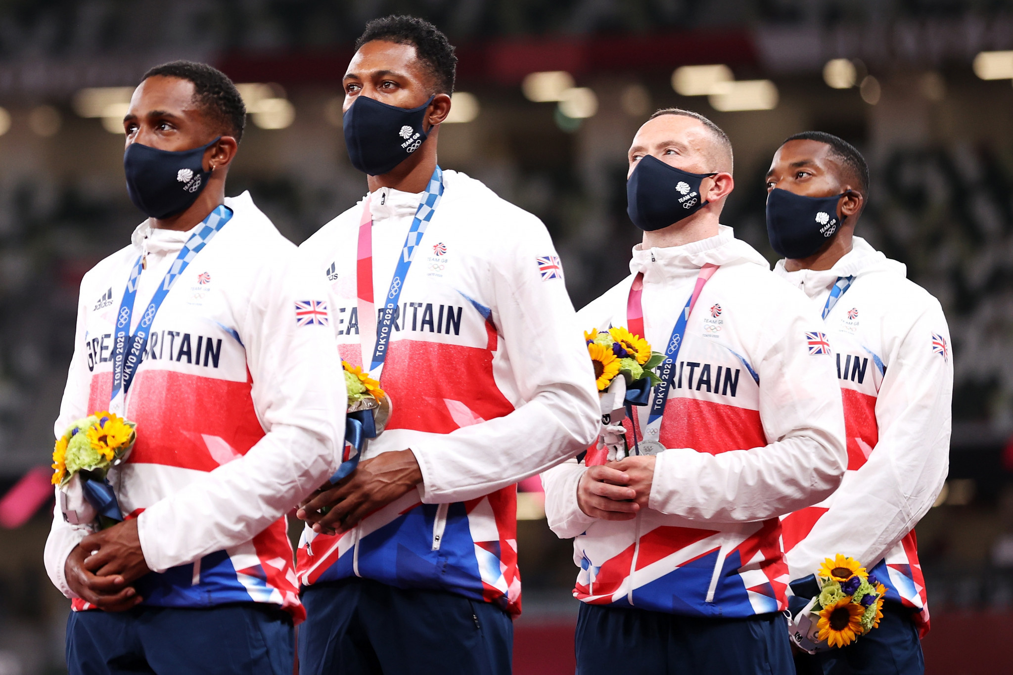 Britain are set to lose their men's 4x100m relay silver medal ©Getty Images