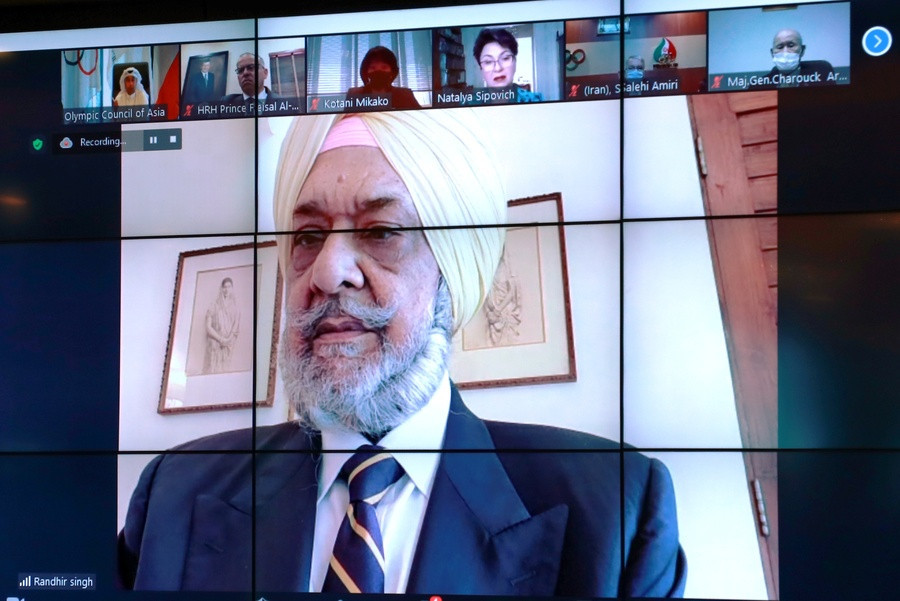 OCA Acting President Randir Singh pays tribute to Sheikh Ahmad at first meeting since guilty verdict