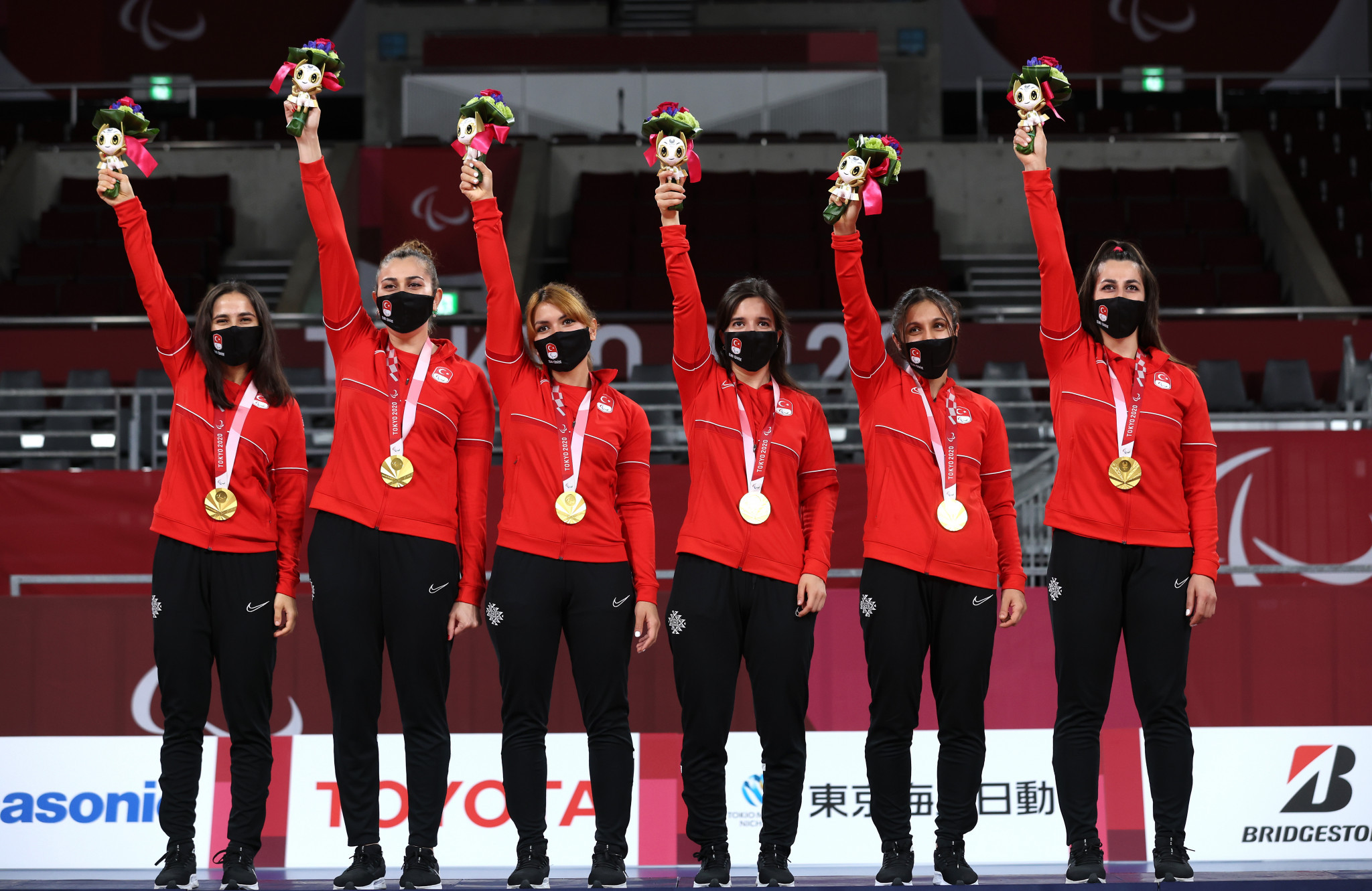 Turkey are women's Paralympic goalball champions ©Getty Images