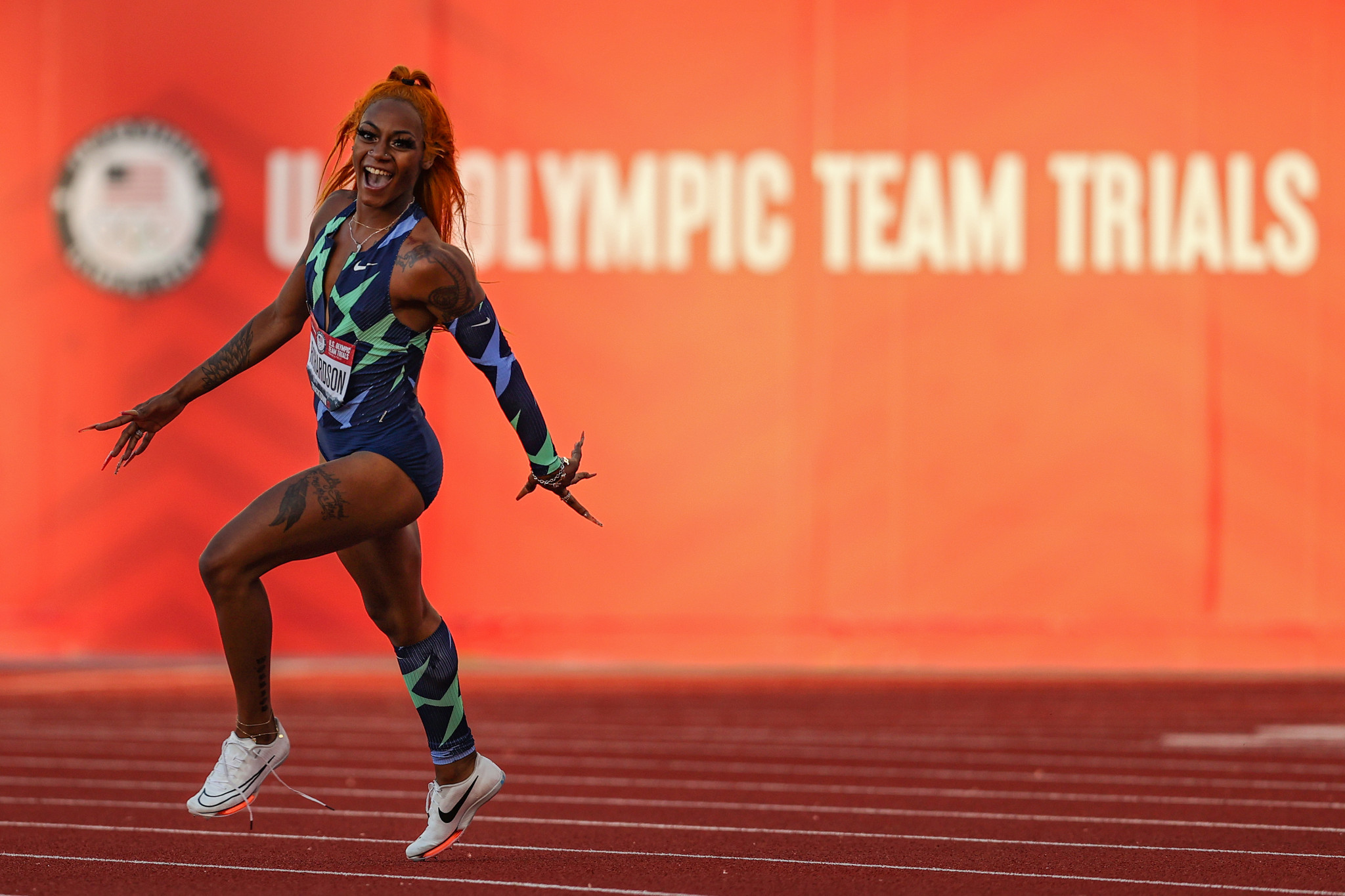 Sha'Carri Richardson missed the Olympics due to testing positive for cannabis ©Getty Images