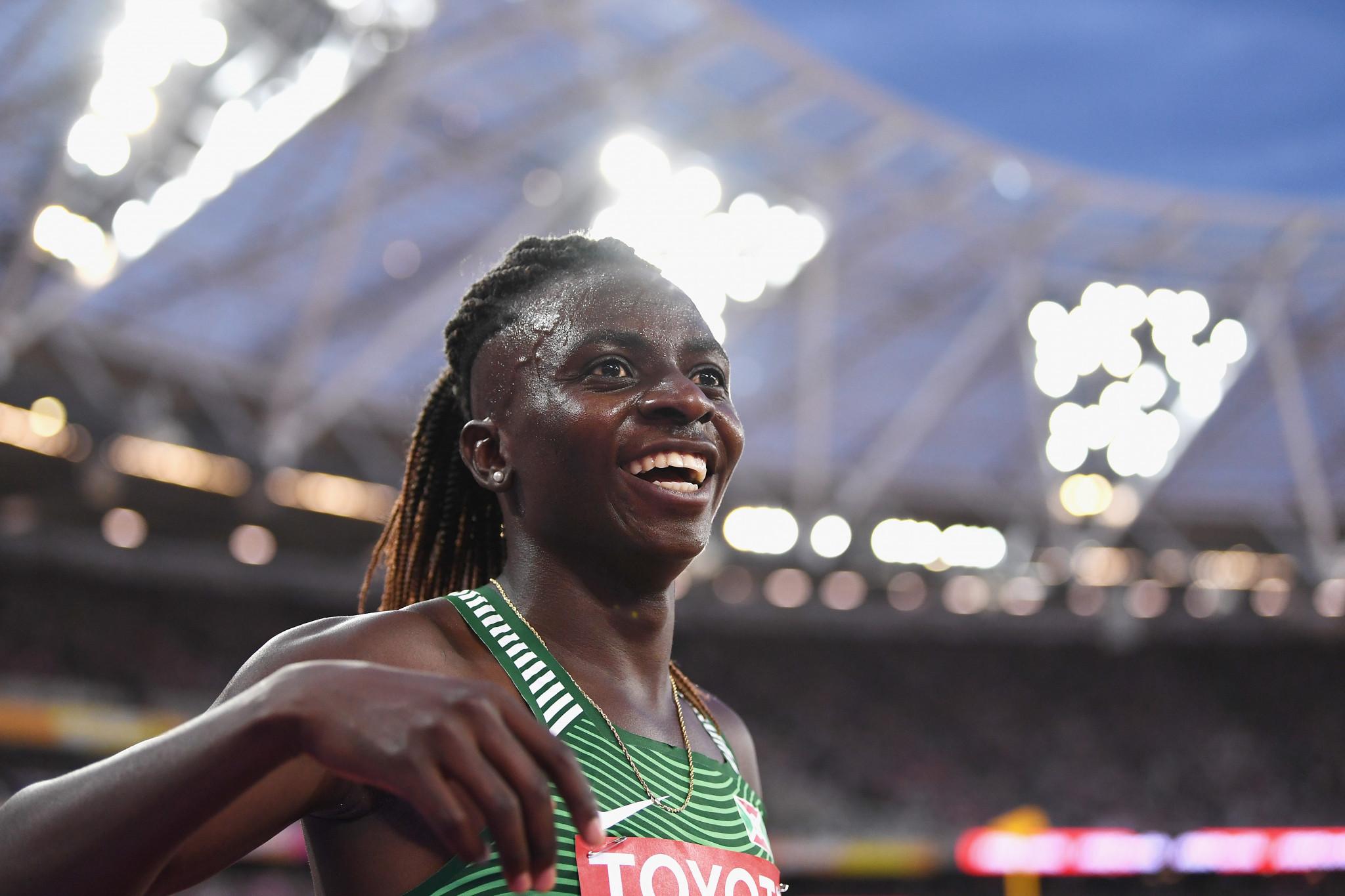 Niyonsaba breaks women's 2,000m world record in Zagreb as three Olympic champions win