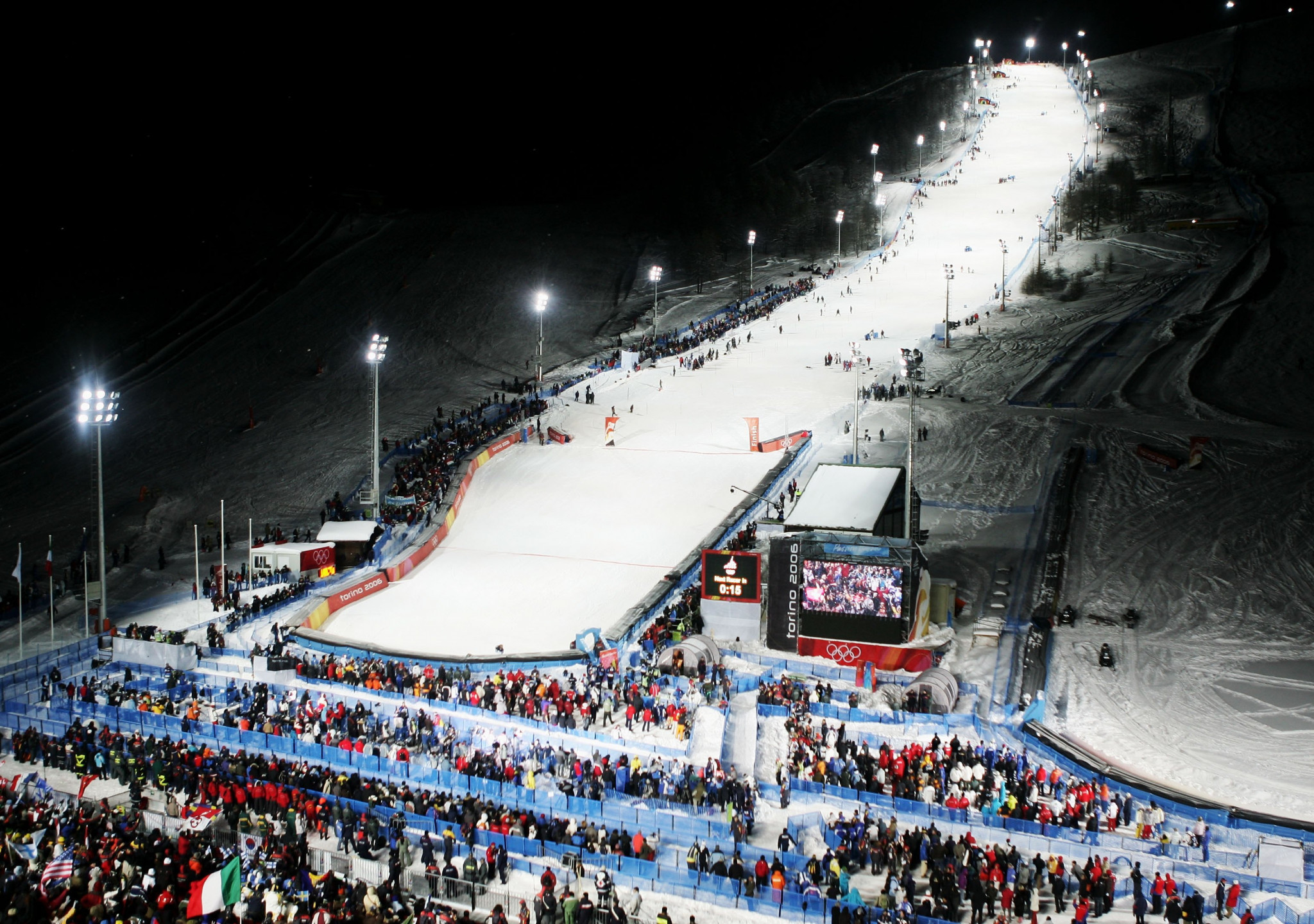 Sestriere hosted Alpine skiing during the Turin 2006 Winter Olympics ©Getty Images