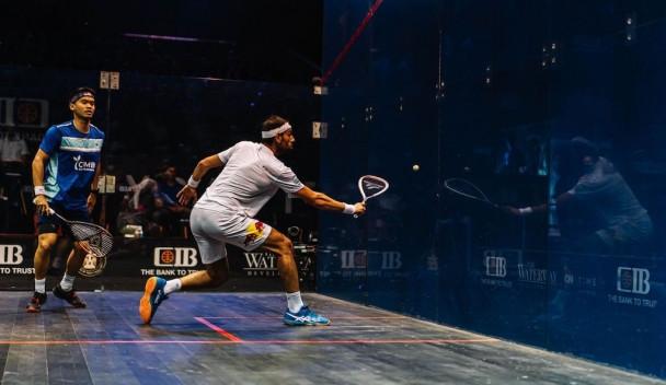 Top seeds El Sherbini and ElShorbagy reach PSA Egyptian Open semi-finals